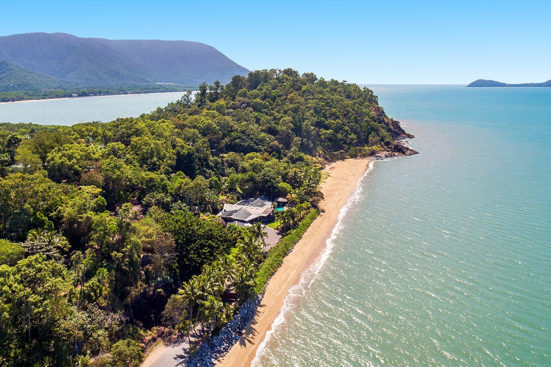 Частный односемейный дом для того Продажа на Trinity Beach Palace Vasey Esplanade Cairns, Queensland, 4879 Австралия