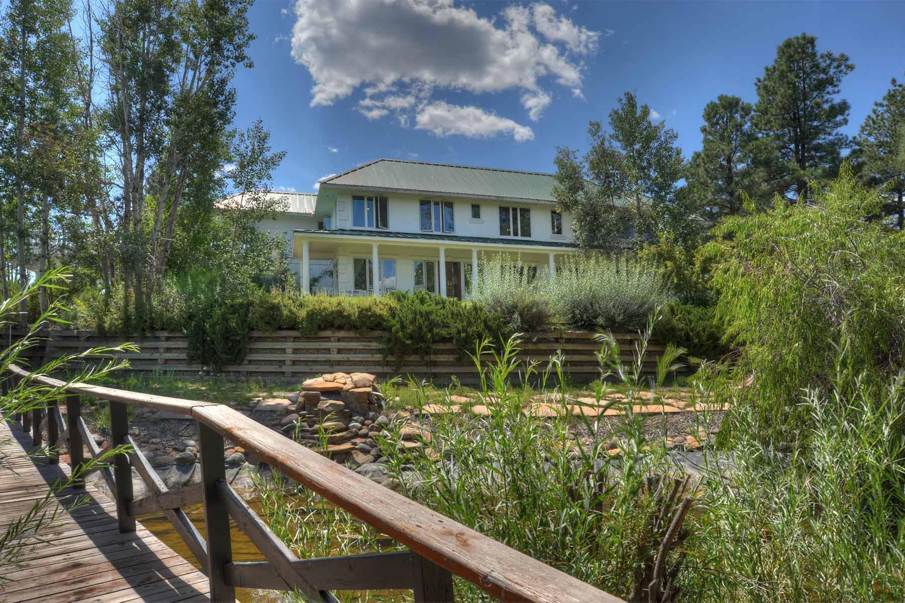 Maison unifamiliale pour l Vente à Taylor Canyon Ranch 8231 CR 500 Pagosa Springs, Colorado, 81147 États-Unis