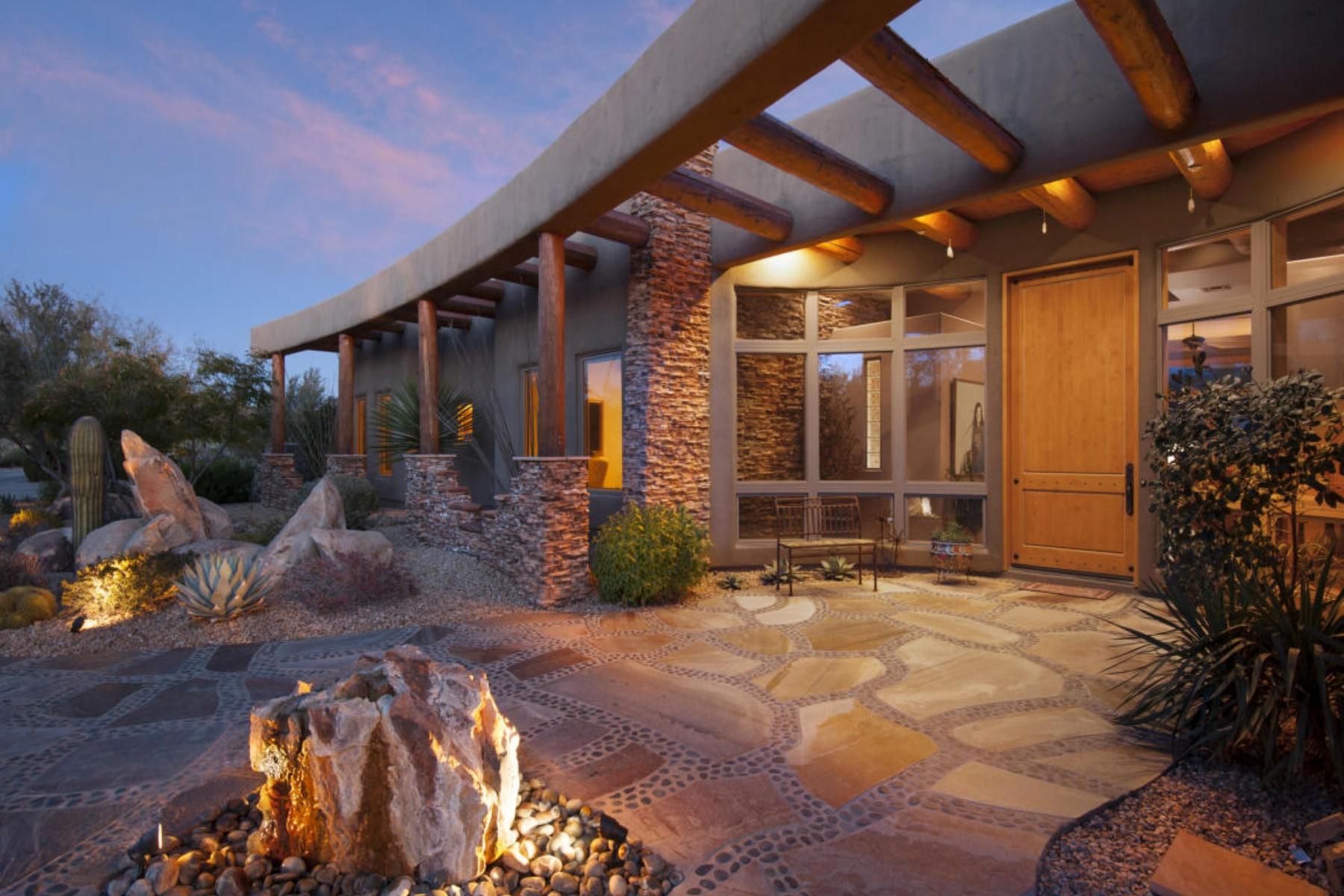 Casa para uma família para Venda às Southwest luxury living on 1.9 ac in Stone Canyon 1083 W Vistoso Highlands Drive Oro Valley, Arizona, 85755 Estados Unidos