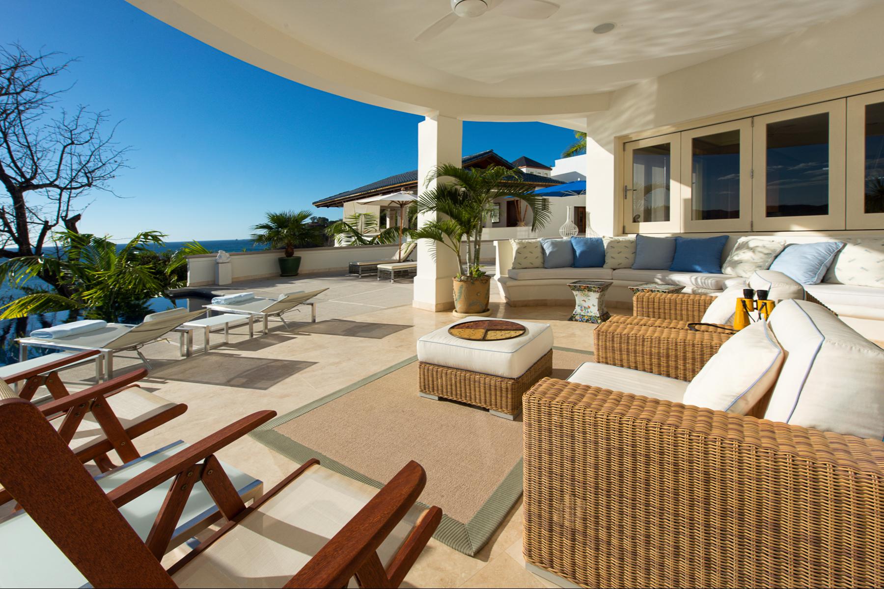 Additional photo for property listing at Stunning Beachfront Estate Santa Cruz, Guanacaste Costa Rica