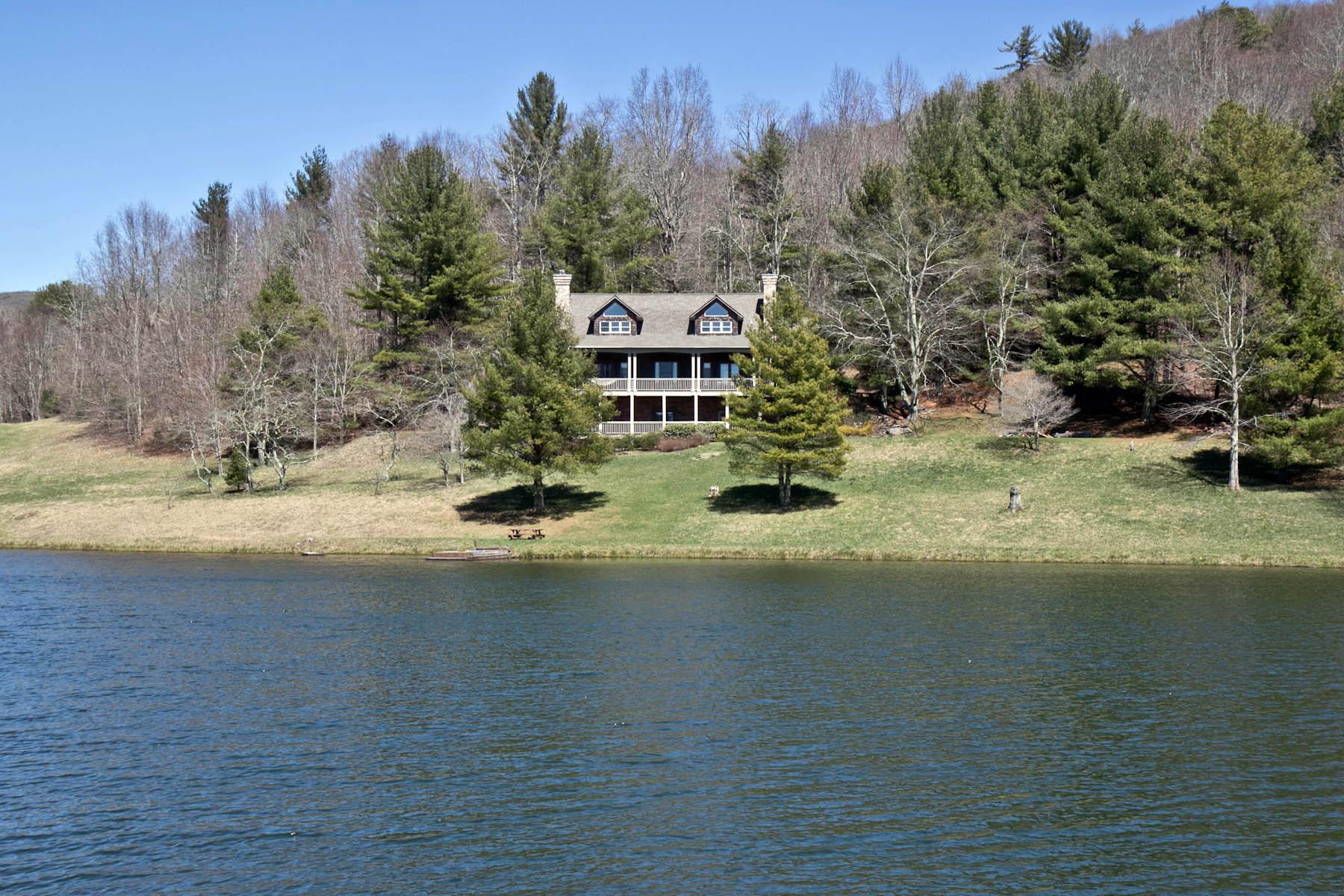 Casa Unifamiliar por un Venta en Lochmont 212 Mountainview Drive Scaly Mountain, Carolina Del Norte, 28775 Estados Unidos