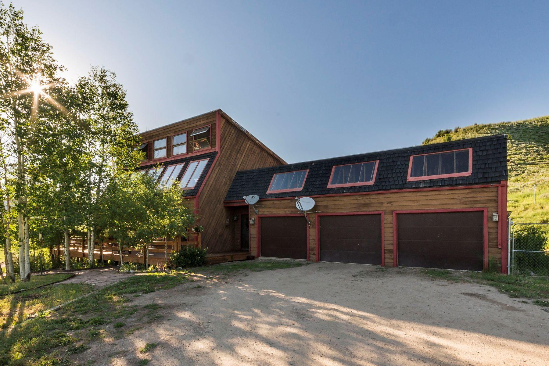 Einfamilienhaus für Verkauf beim 4 Bedroom Home with Privacy 42120 County Rd 46 Steamboat Springs, Colorado, 80487 Vereinigte Staaten