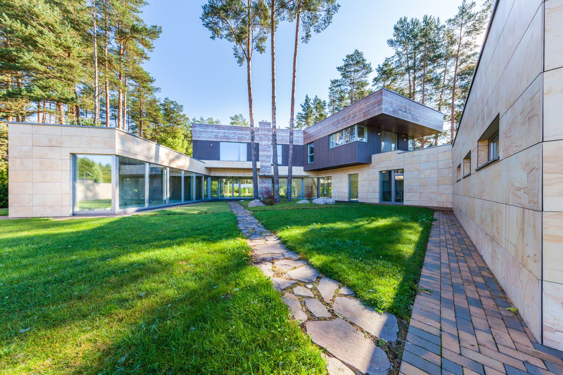 Single Family Home for Sale at House of Stylish Architecture Surrounded by the Natural Vilnius, Vilnius County, Lithuania
