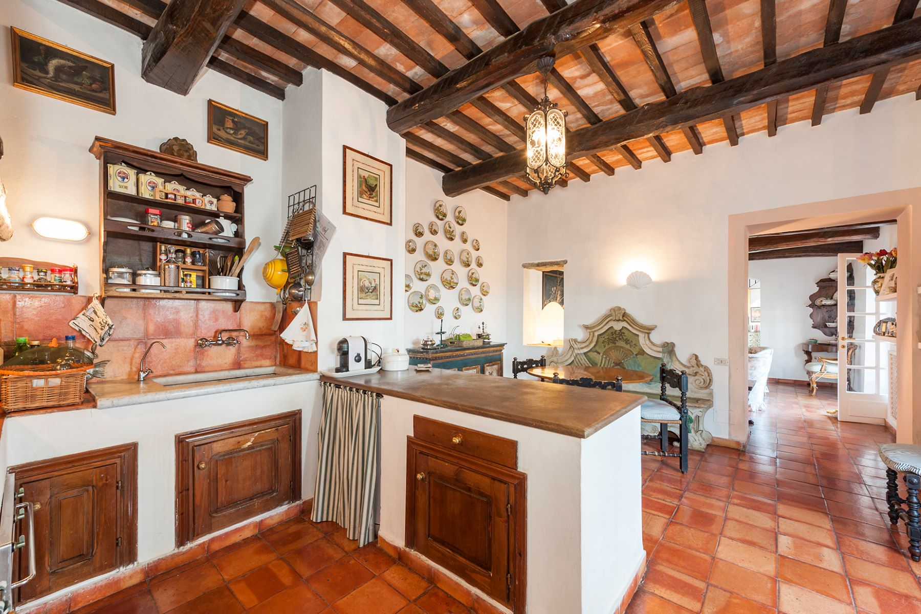 Additional photo for property listing at Wonderful stone villa in Monte Argentario Porto Ercole, Grosseto Italien