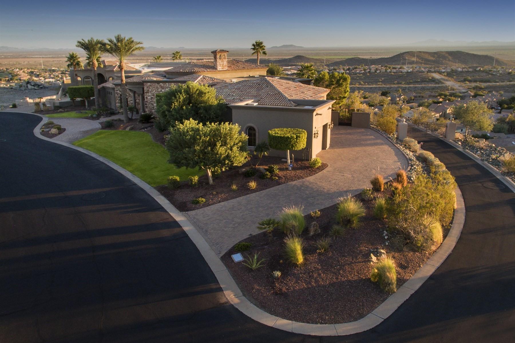 Частный односемейный дом для того Продажа на Eagle Ridge Estates 15808 S 7th St Phoenix, Аризона, 85048 Соединенные Штаты