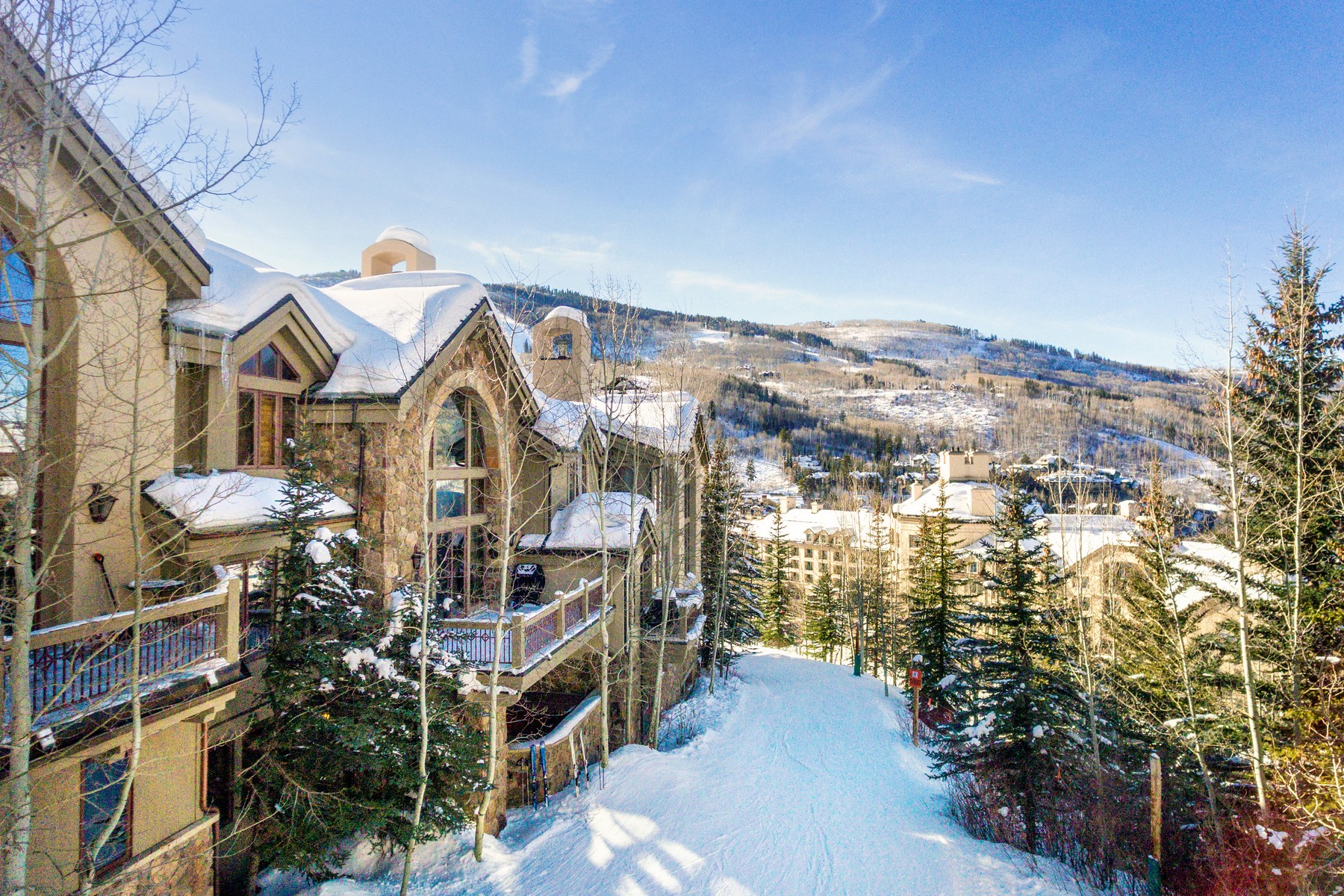 Townhouse for Active at Prestigious Ski-In/Ski-Out Enclave 52 Highlands Lane Beaver Creek, Colorado 81620 United States