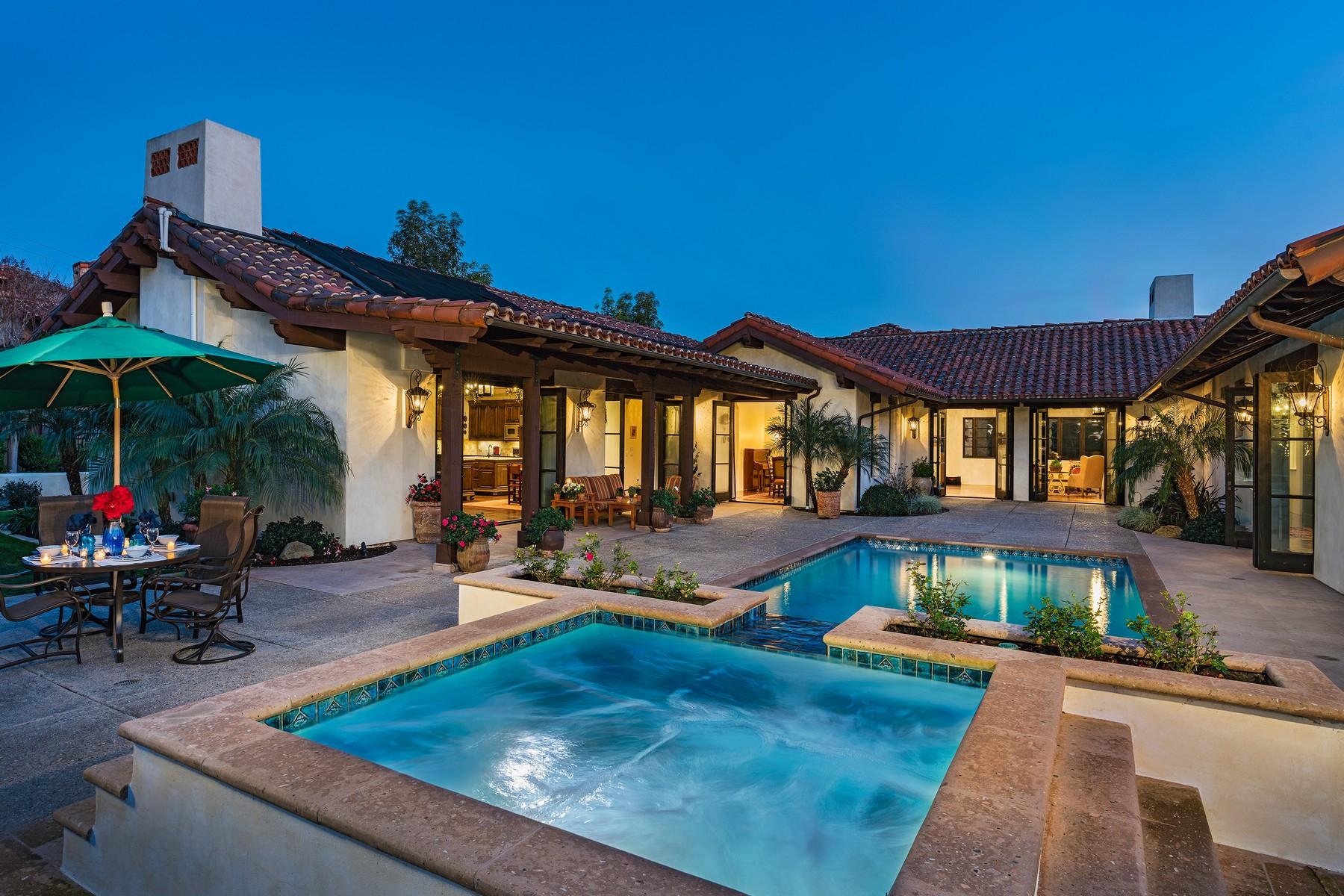 Casa Unifamiliar por un Venta en 18484 Calle La Serra Rancho Santa Fe, California, 92067 Estados Unidos