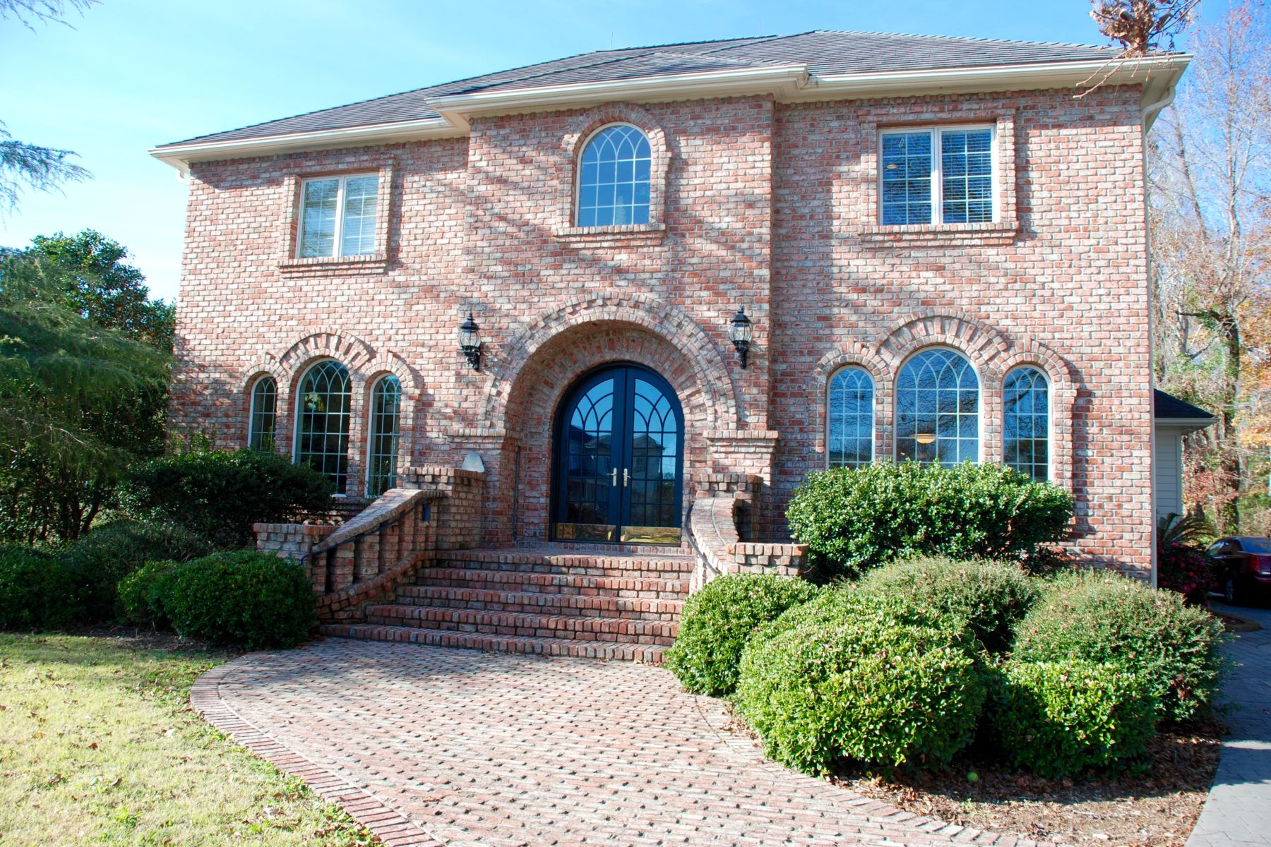 Single Family Home for Sale at Stately Custom Built Brick Home 2768 Pinecrest Drive SE Southport, North Carolina 28461 United States