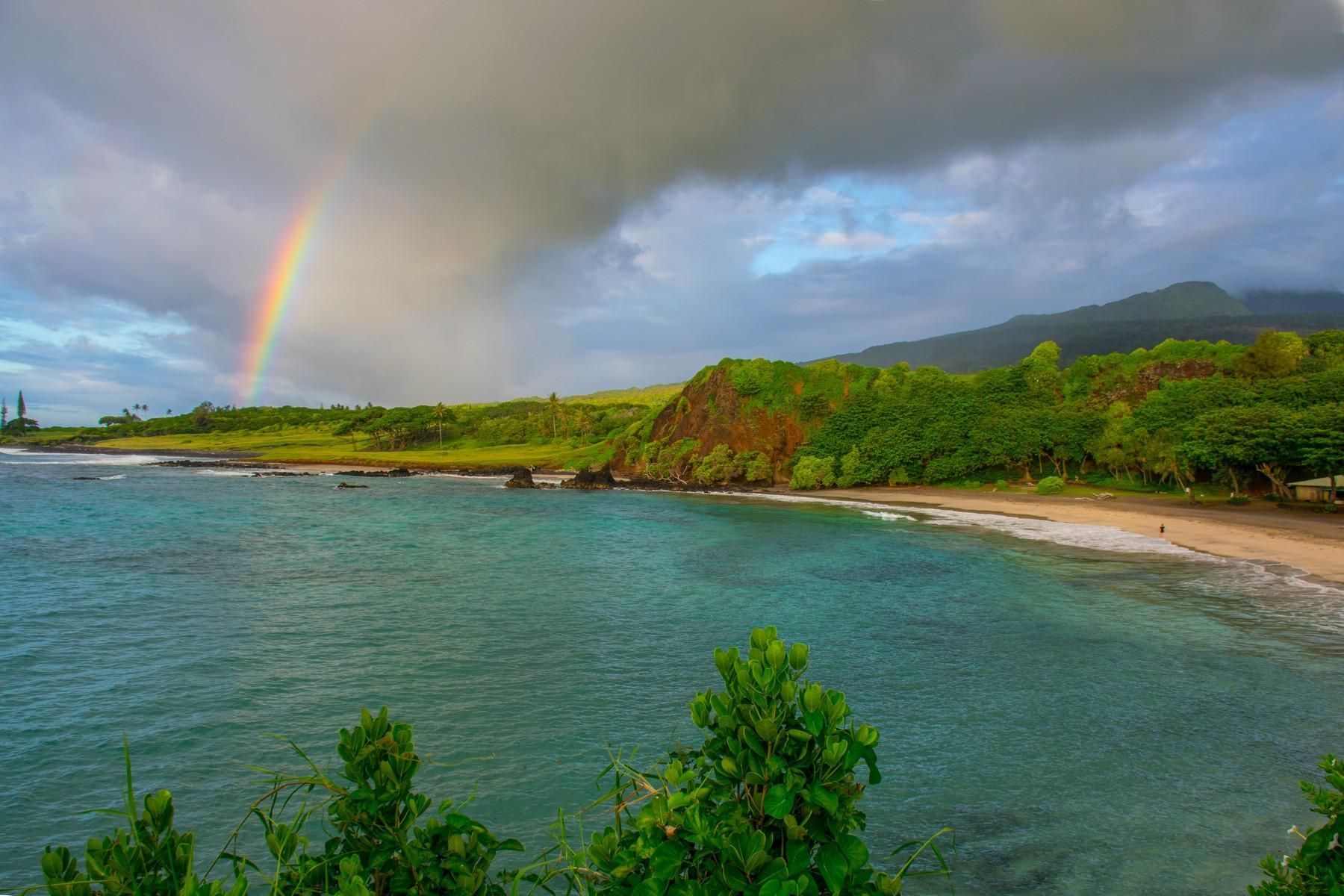 Arazi için Satış at Extraordinary Oceanfront Location Hana Highway, Hamoa Beach Hana, Hawaii, 96713 Amerika Birleşik Devletleri