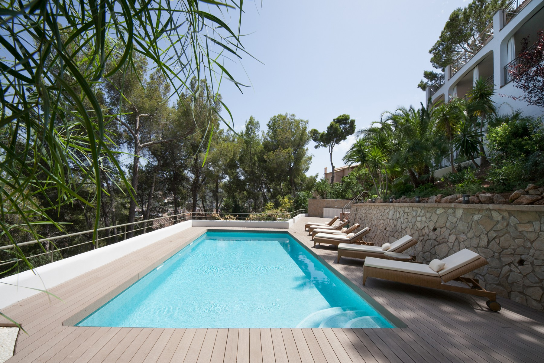 Single Family Home for Sale at Villa overlooking the harbour in Port Andratx Port Andratx, Mallorca, 07157 Spain
