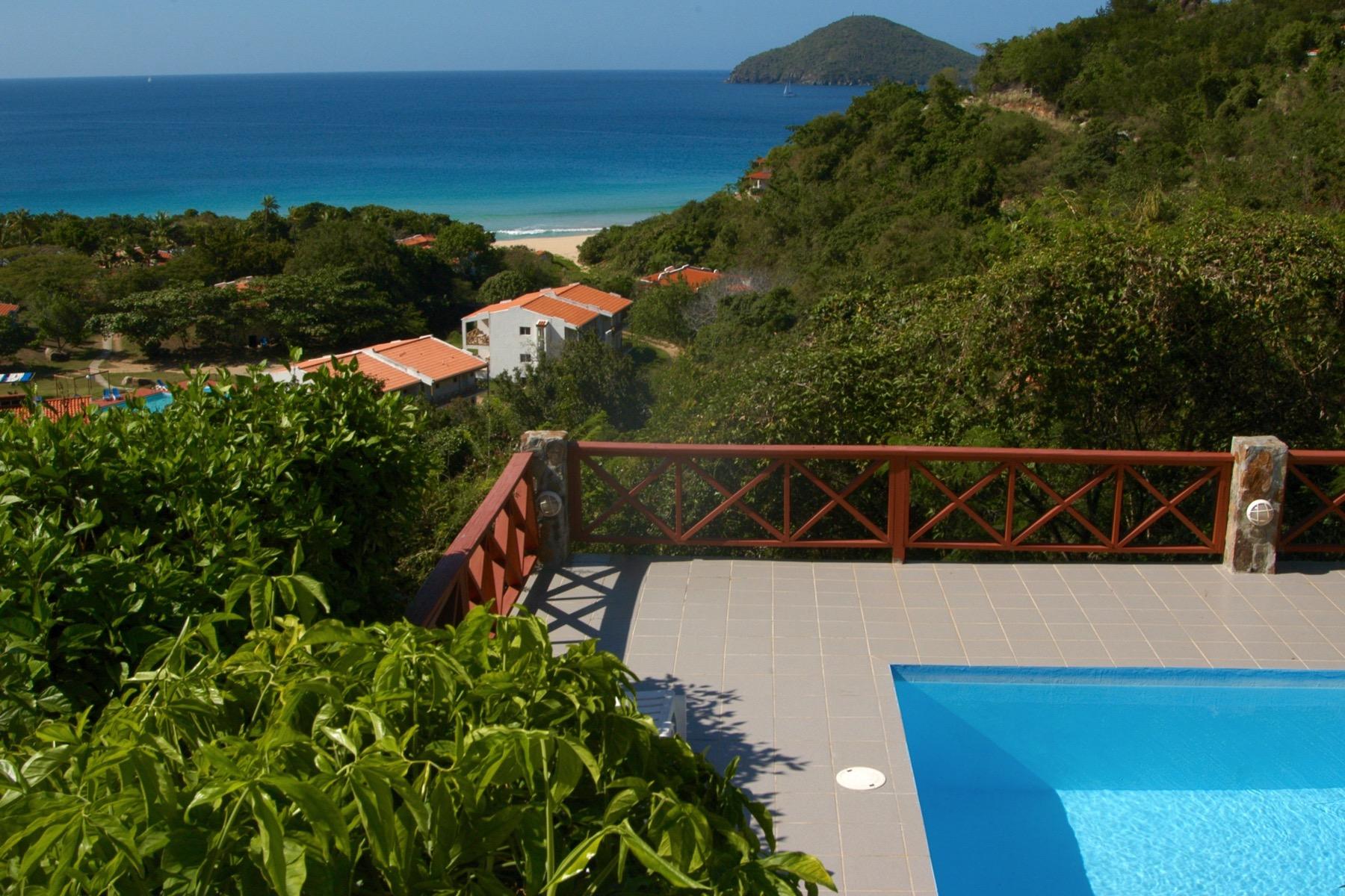 Частный односемейный дом для того Продажа на Villa Oleander Lambert Beach, Тортола Британские Виргинские Острова