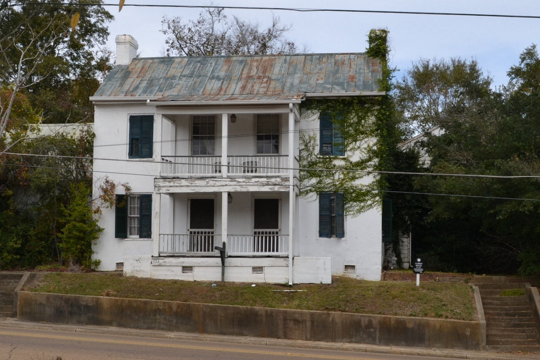 Single Family Home for Sale at Cohen House 424 Main St Woodville, Mississippi 39669 United States