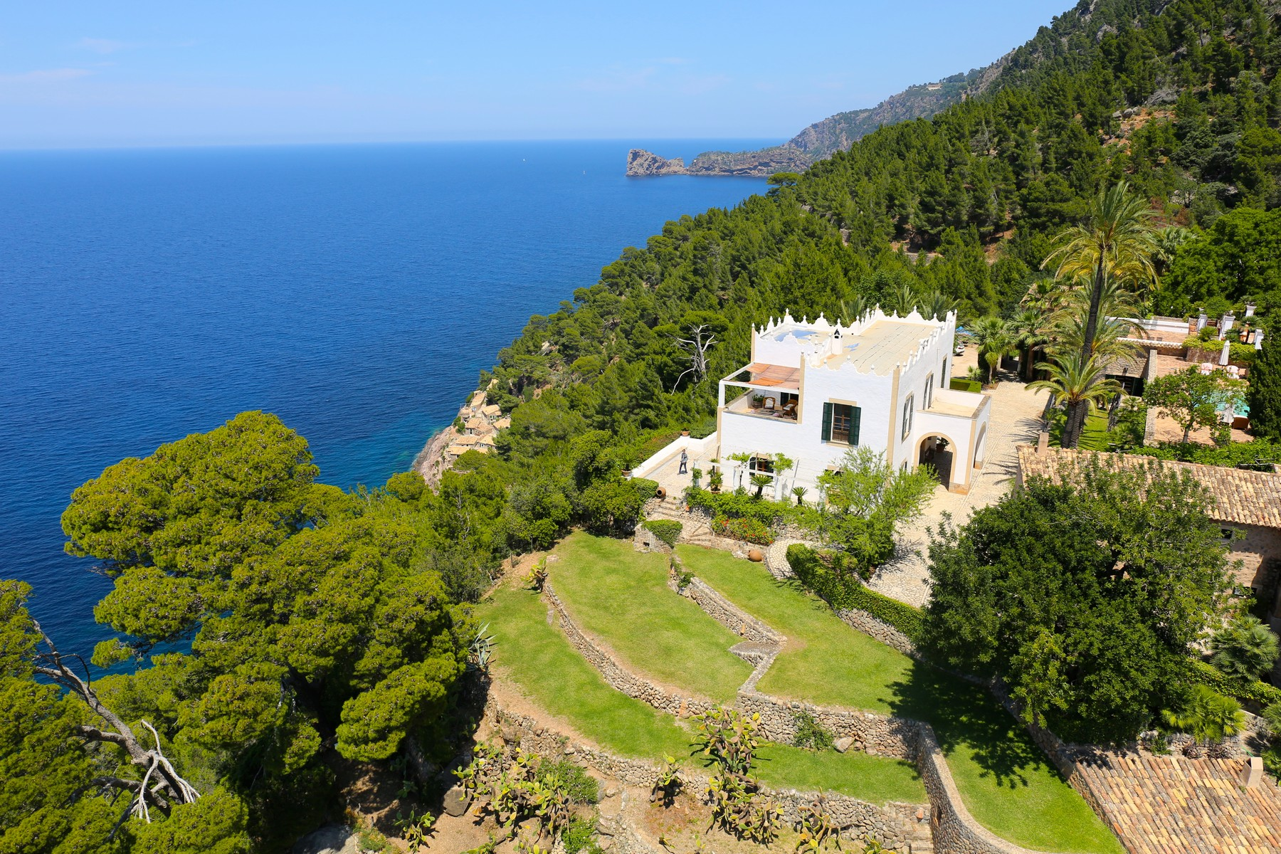 Single Family Home for Sale at Spectacular Mansion in Puerto Valldemossa Valldemossa, Mallorca, Spain