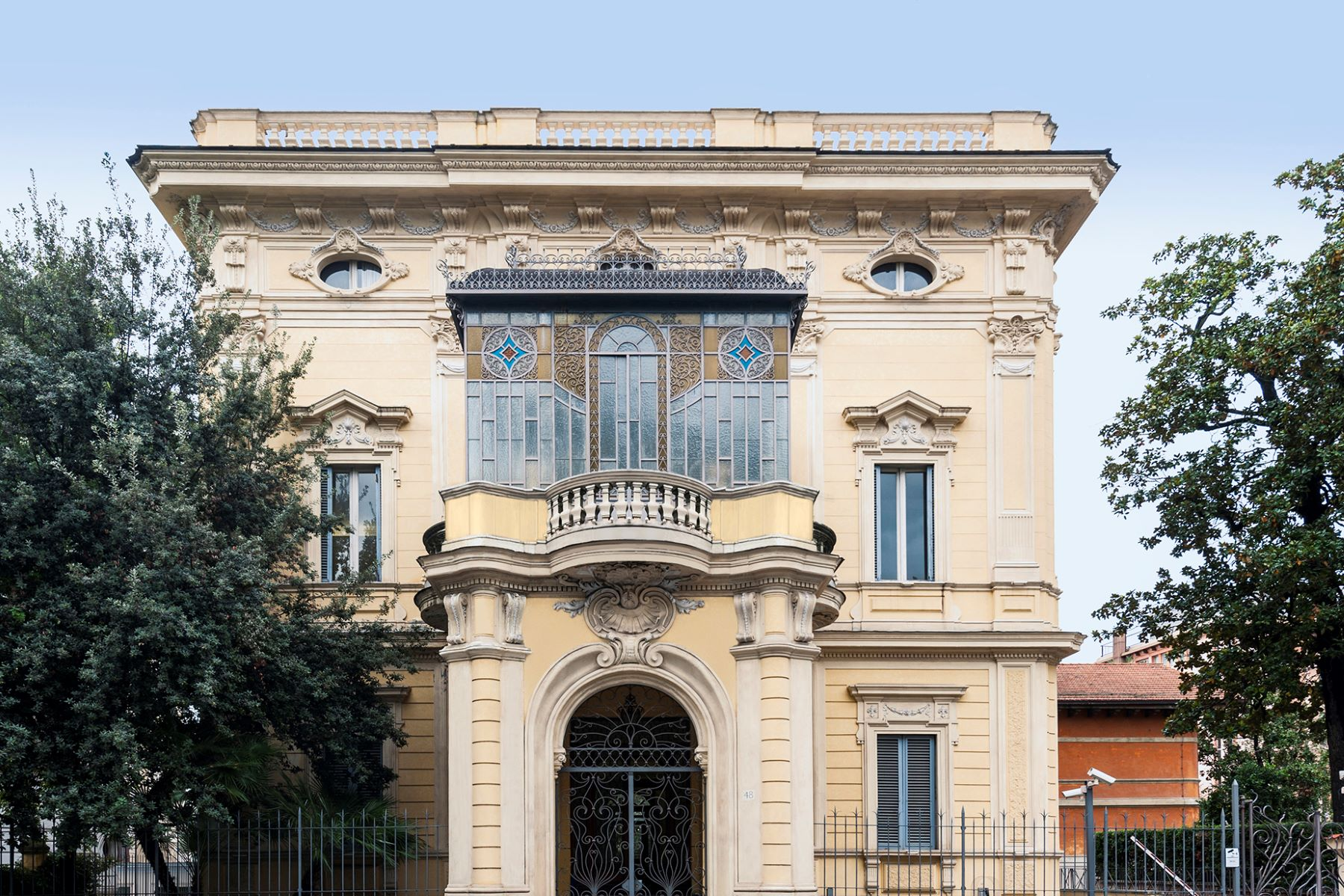 Single Family Home for Sale at Majestic Art Deco Villa in Rome's City Center Via Piemonte Rome, 00187 Italy