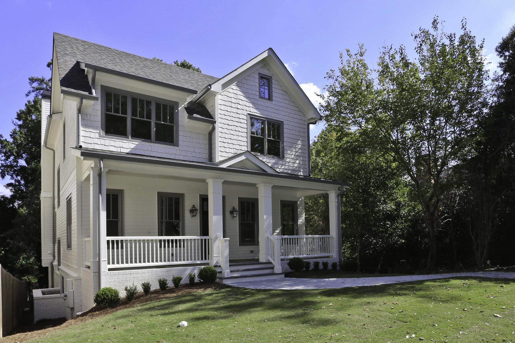 Maison unifamiliale pour l Vente à New Luxury Home in a hot new home area of Garden Hills 2963 Lookout Place NE Garden Hills, Atlanta, Georgia, 30305 États-Unis