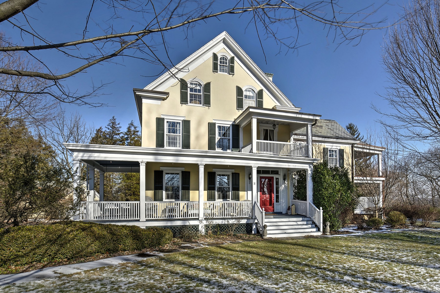 Single Family Home for Sale at Historic Colonial 2 Talmage Road Mendham, New Jersey 07945 United States
