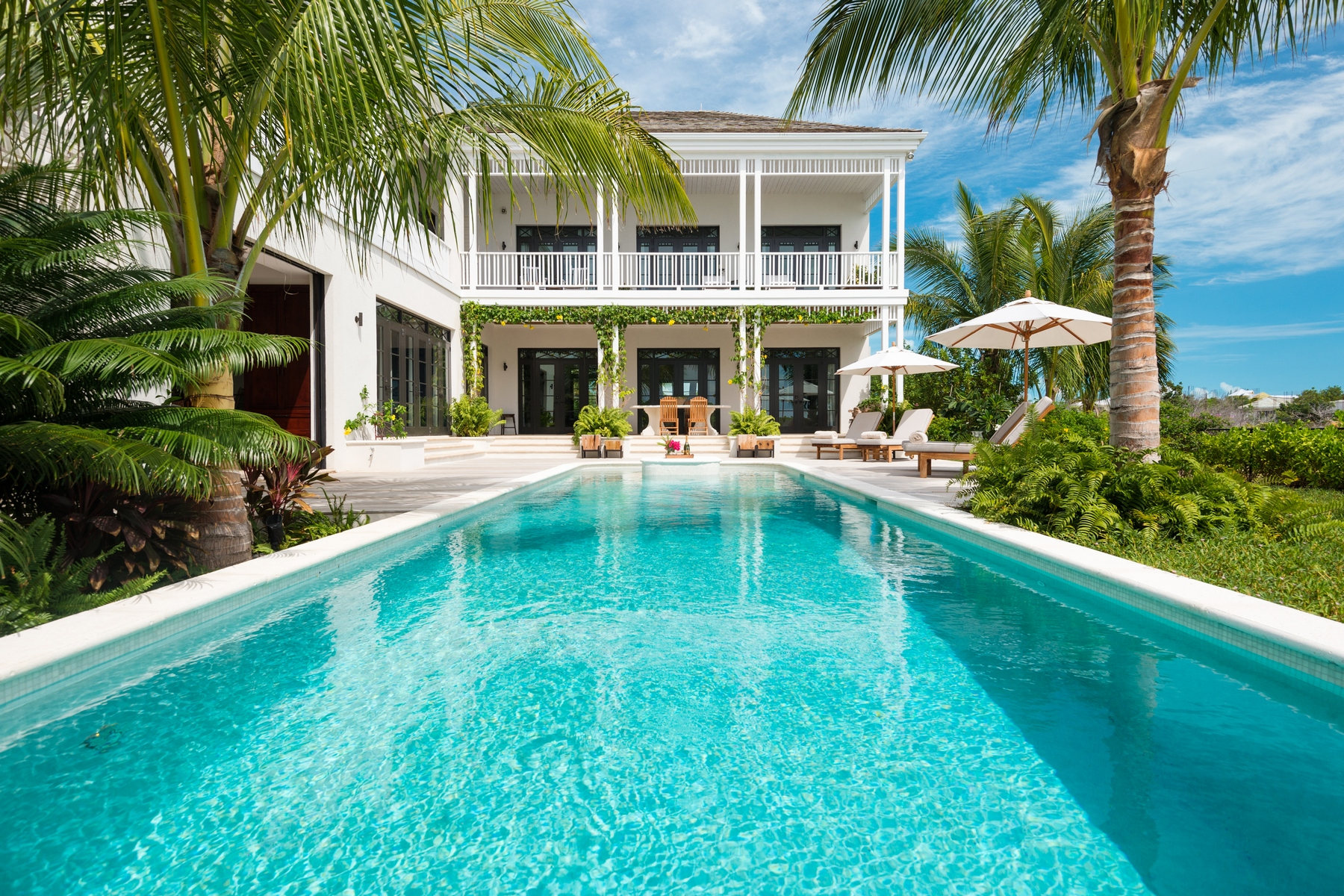 Single Family Home for Rent at Saving Grace Vacation Rental Beachfront Grace Bay, TC Turks And Caicos Islands