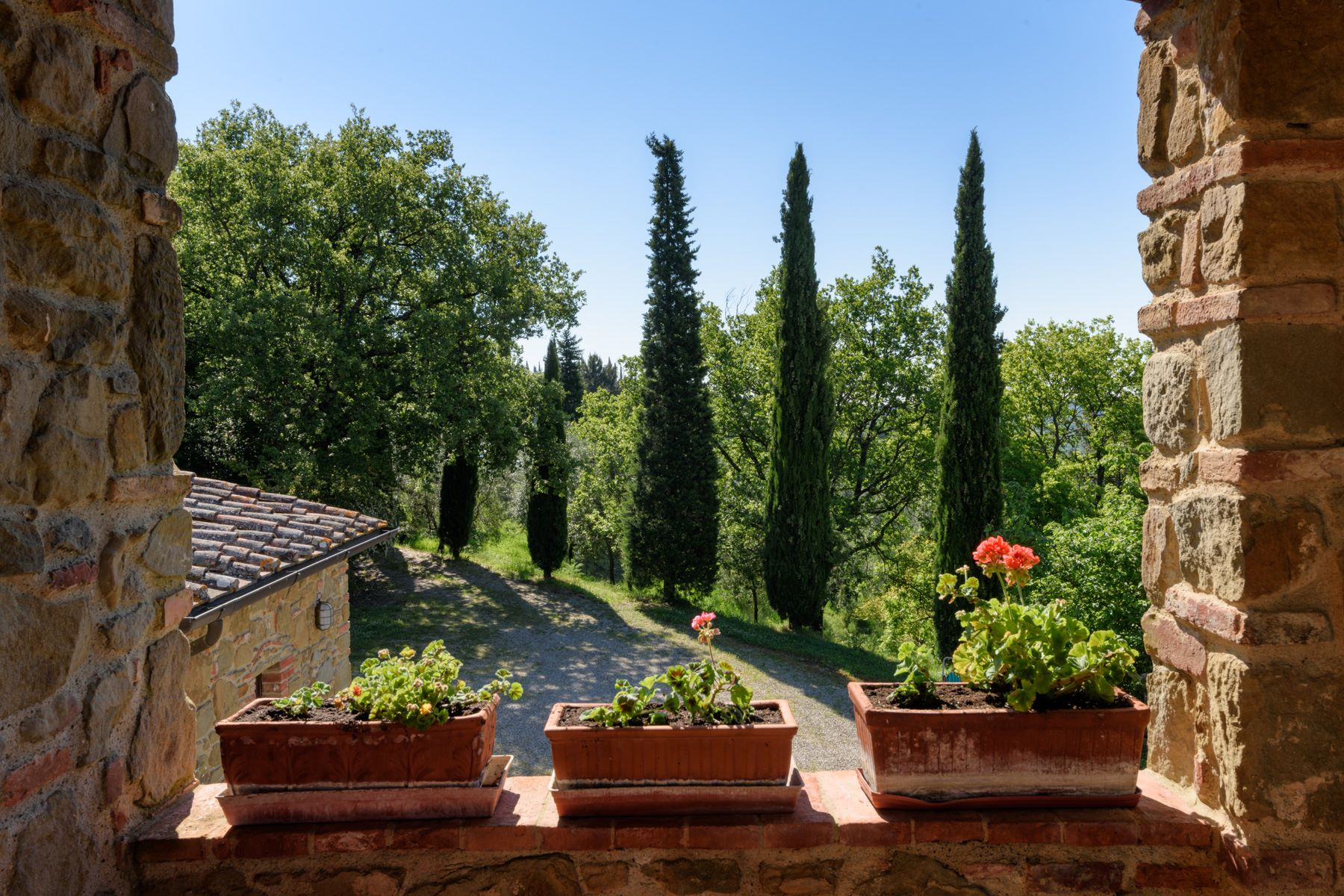 Additional photo for property listing at Charming property near the Castle of Gargonza Monte San Savino, Arezzo Italy