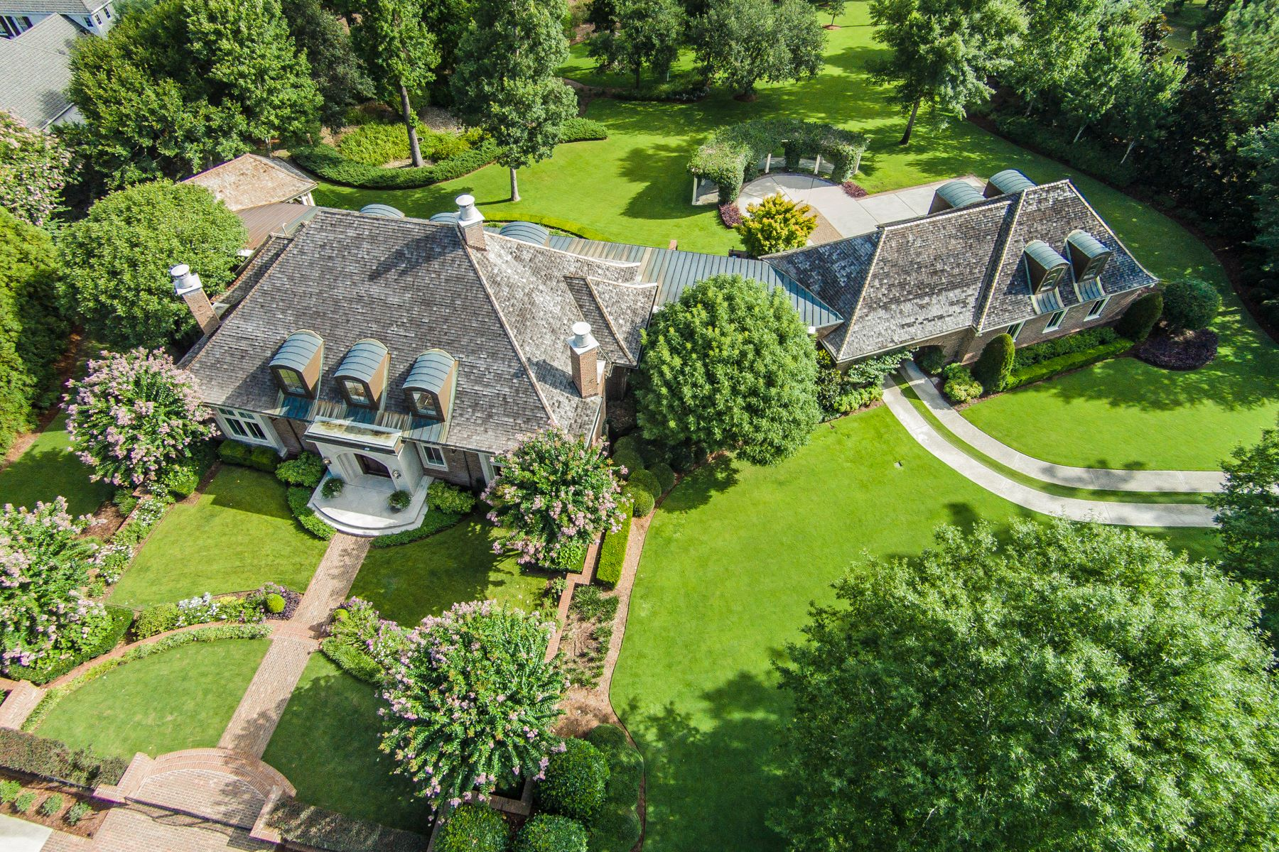 Single Family Home for Sale at Exquisite Details Define This Inspired Waterfront Estate 2001 Balmoral Place Wilmington, North Carolina 28405 United States