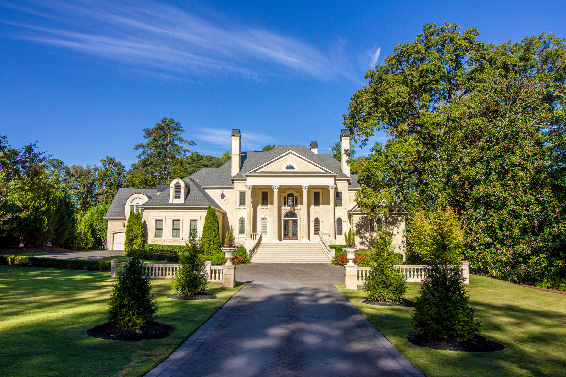 단독 가정 주택 용 매매 에 Incomparable Neoclassical Estate In The Heart Of Buckhead 1495 Mount Paran Road NW Buckhead, Atlanta, 조지아, 30327 미국