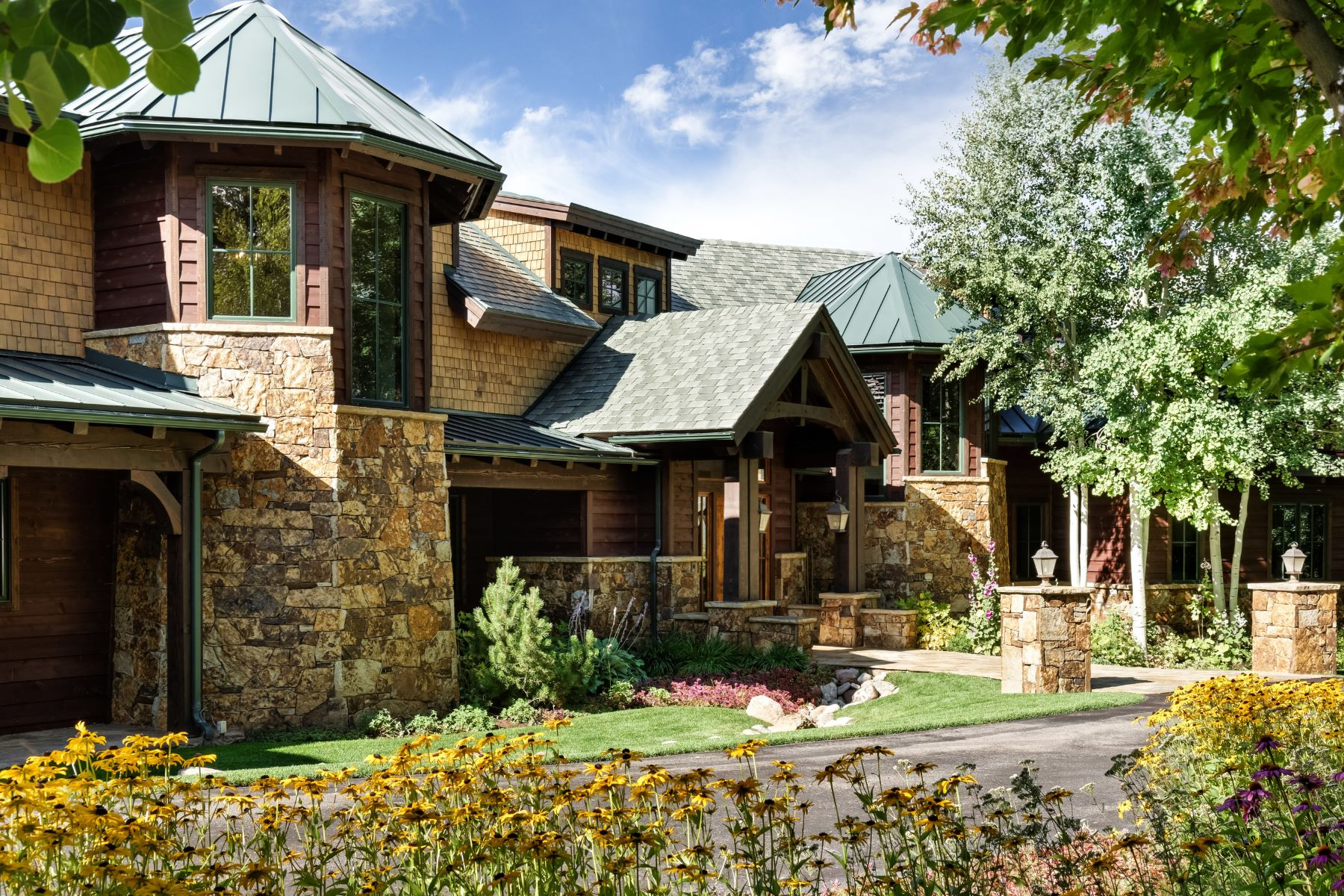 Single Family Home for Sale at Magnificent Panorama in McLain Flats 2016 McLain Flats Road Aspen, Colorado, 81611 United States