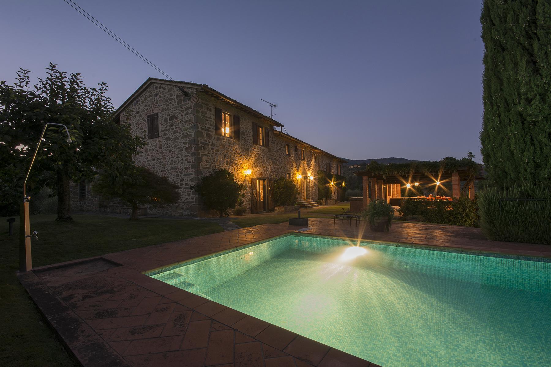 Einfamilienhaus für Verkauf beim Lovely farmhouse with views of Montecatini Terme Montecatini Terme, Pistoia Italien