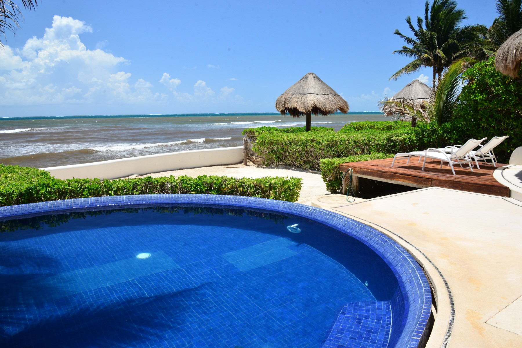 Additional photo for property listing at DEPARTAMENTO # 101 PARAISO FRENTE AL MAR Seafront Paradise – Unit #101 Predio Maria Irene, Supermzna 12, Mzna 21 13 Puerto Morelos, Quintana Roo 77930 México