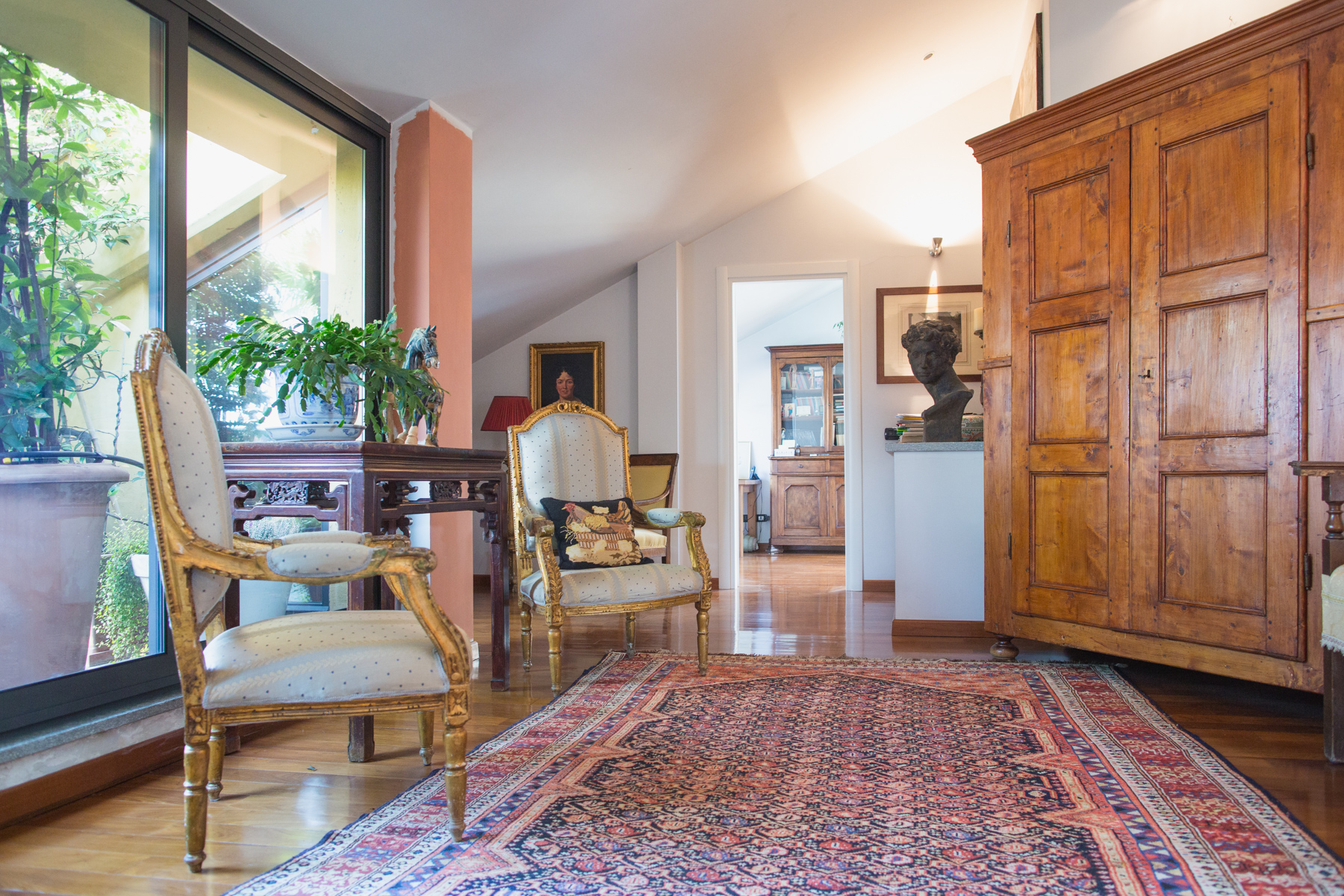 Single Family Home for Sale at Panoramic attic overlooking the hill of Turin Piazza Nizza Turin, 10126 Italy