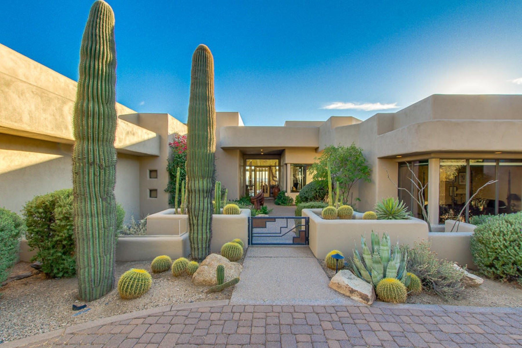 Single Family Home for Sale at Spectacular home perched high above the valley on Black Mountain 6609 E El Sendero Rd Carefree, Arizona, 85377 United States