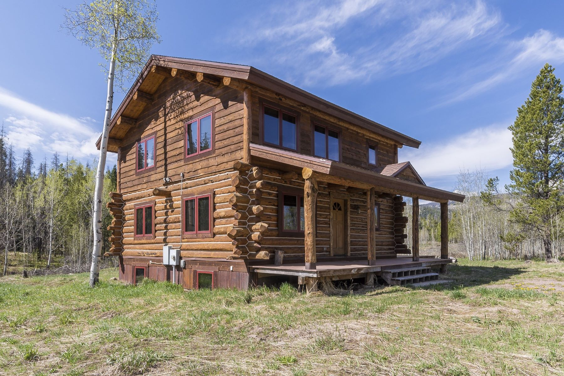 Casa Unifamiliar por un Venta en Stagecoach Log Cabin 21015 Palomino Way Oak Creek, Colorado, 80467 Estados Unidos