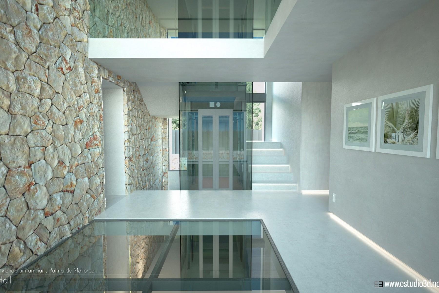Maison unifamiliale pour l Vente à Modern, newly built villa near the beach in Palma Autres Balearic Islands, Balearic Islands, 07007 Espagne