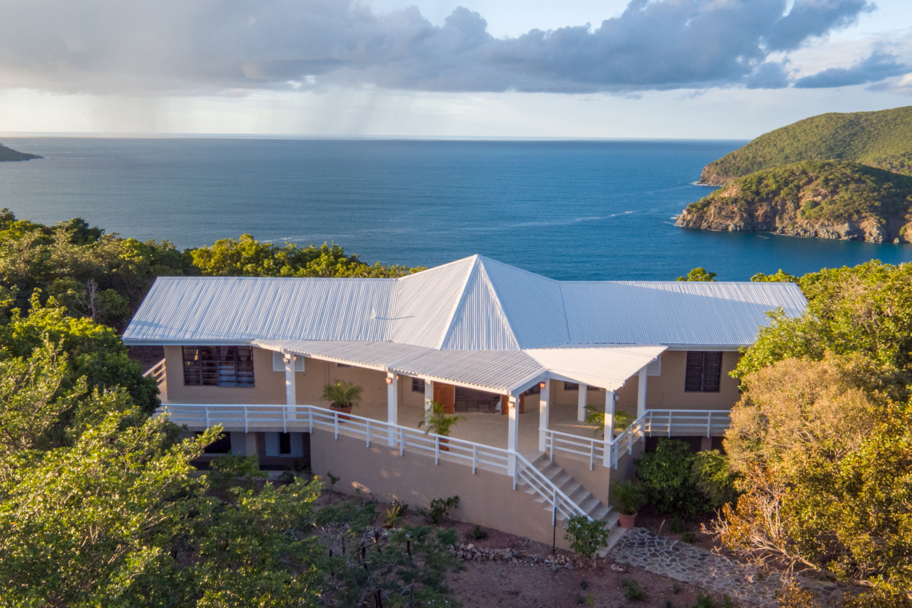 Enfamiljshus för Försäljning vid Island Escape Indigo Plantation, Great Camanoe Brittiska Jungfruöarna