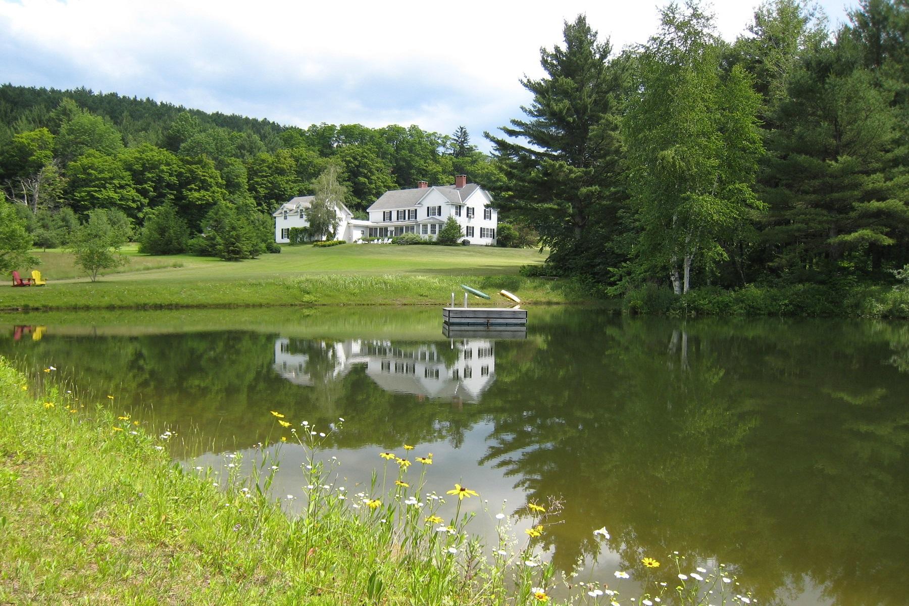 Nhà ở một gia đình vì Bán tại Remarkable Country Retreat 1491 Prosper Road Woodstock, Vermont, 05091 Hoa Kỳ