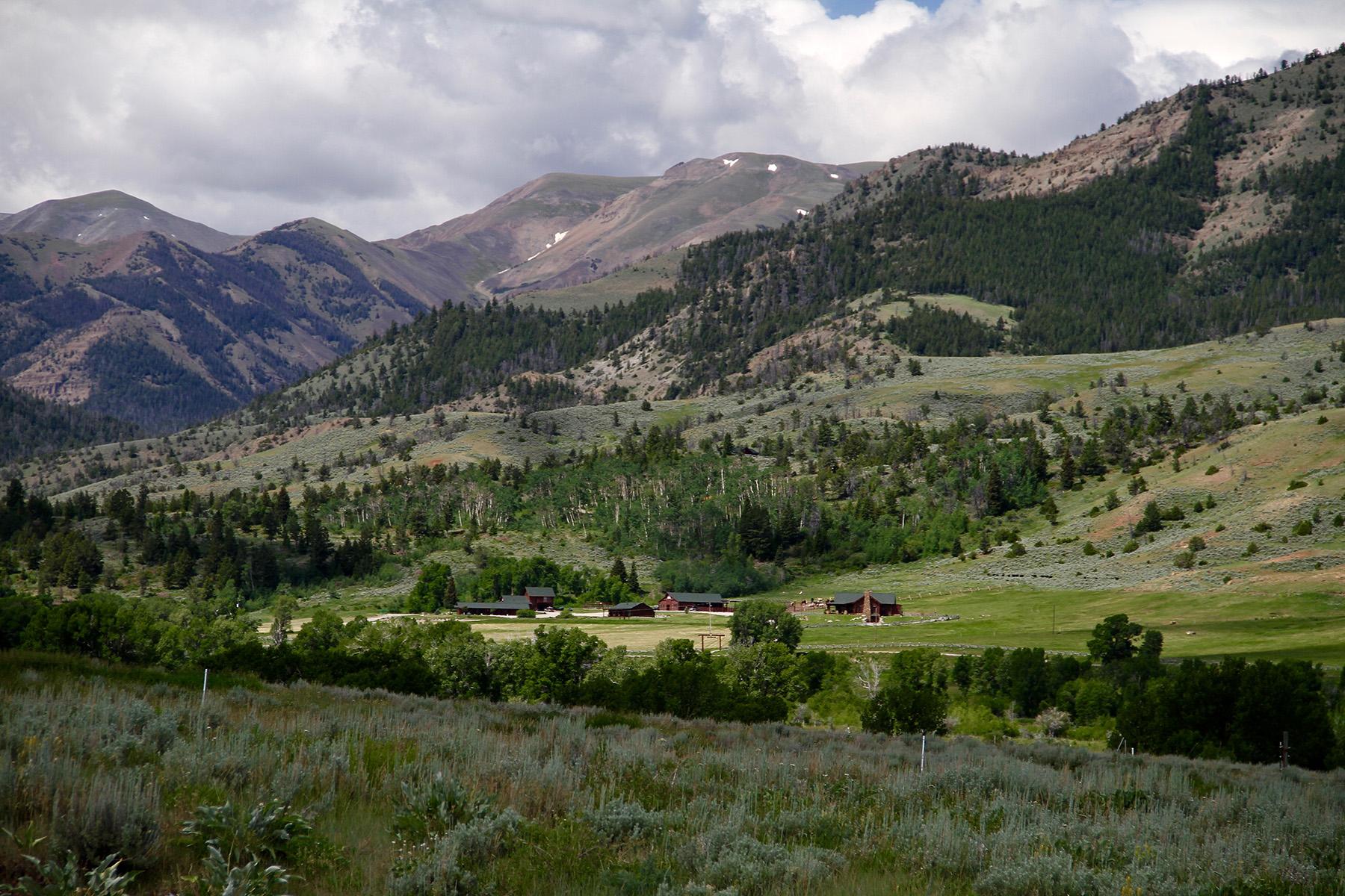 농장 / 목장 / 농장 용 매매 에 Wood River Ranch 1261 Road 4DT Meeteetse, 와이오밍, 82433 Jackson Hole, 미국