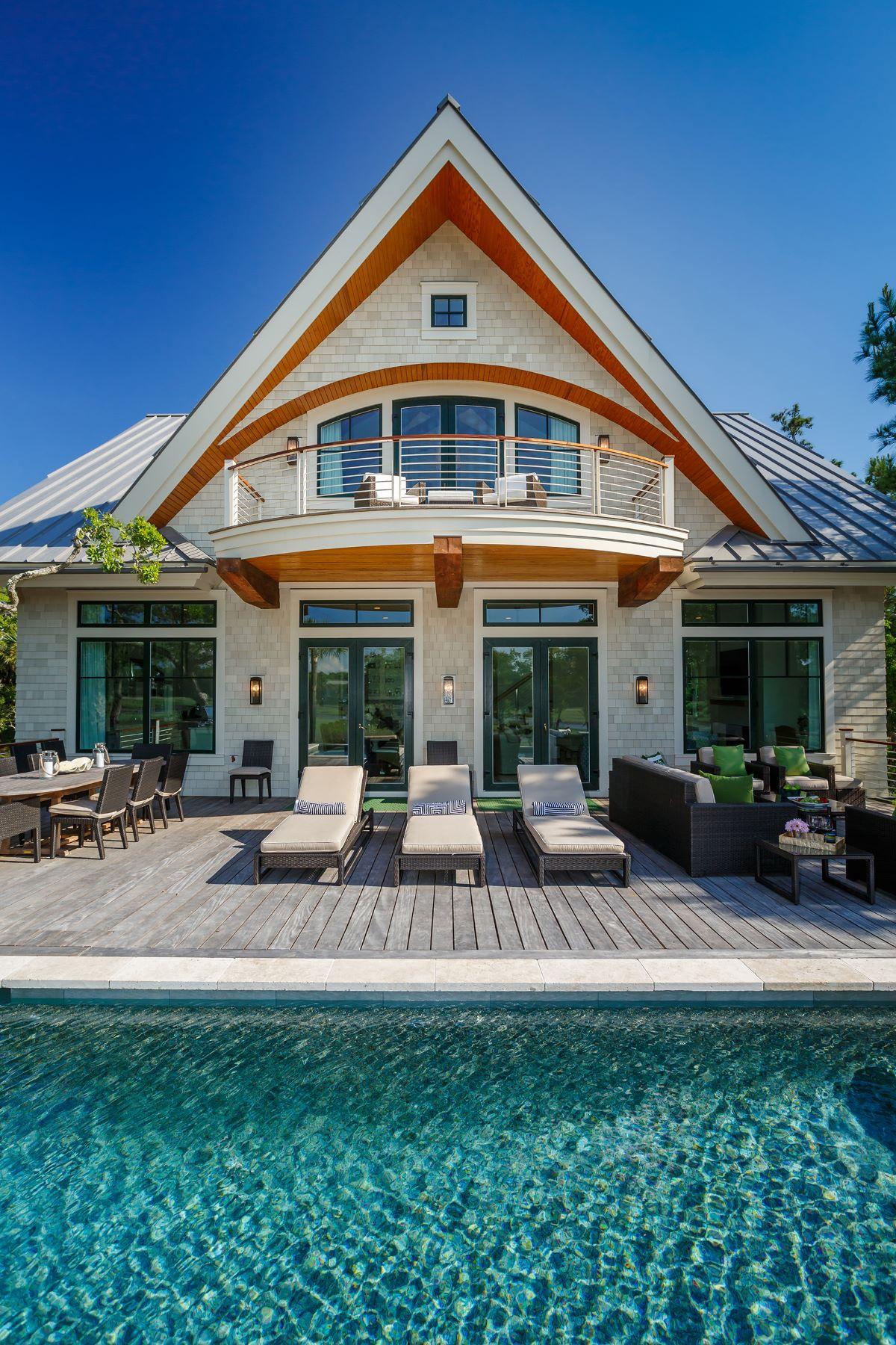 Maison unifamiliale pour l Vente à Luxury Living with a Clean Conscience 125 Halona Lane Kiawah Island, Caroline Du Sud, 29455 États-Unis