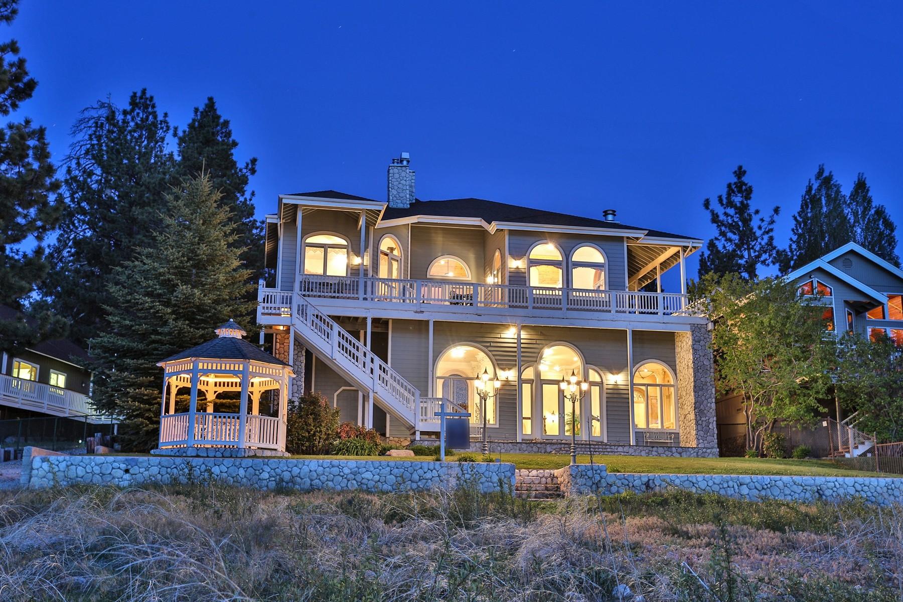 Частный односемейный дом для того Продажа на 132 Round Big Bear Lake, Калифорния 92315 Соединенные Штаты