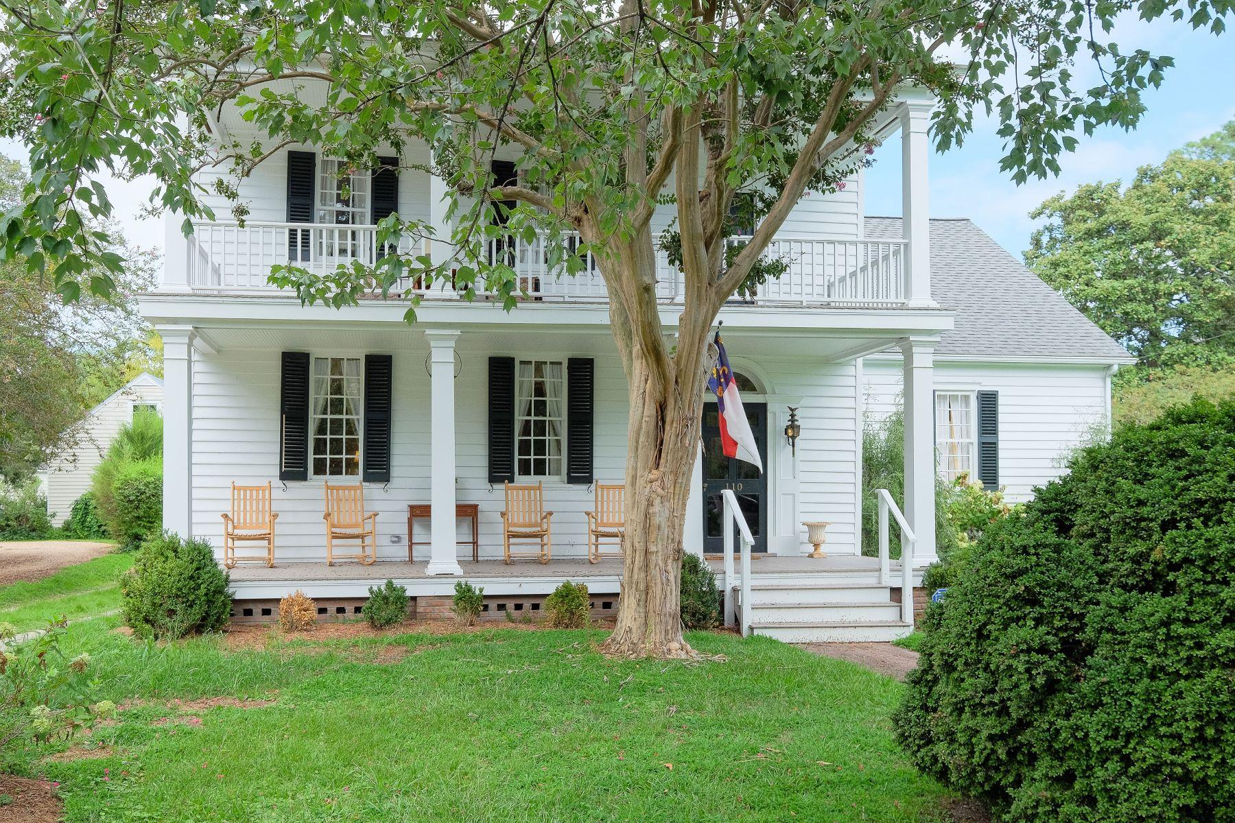 Maison unifamiliale pour l Vente à Dixon-Bennett House 110 W King St Edenton, Carolina Du Nord, 27932 États-Unis