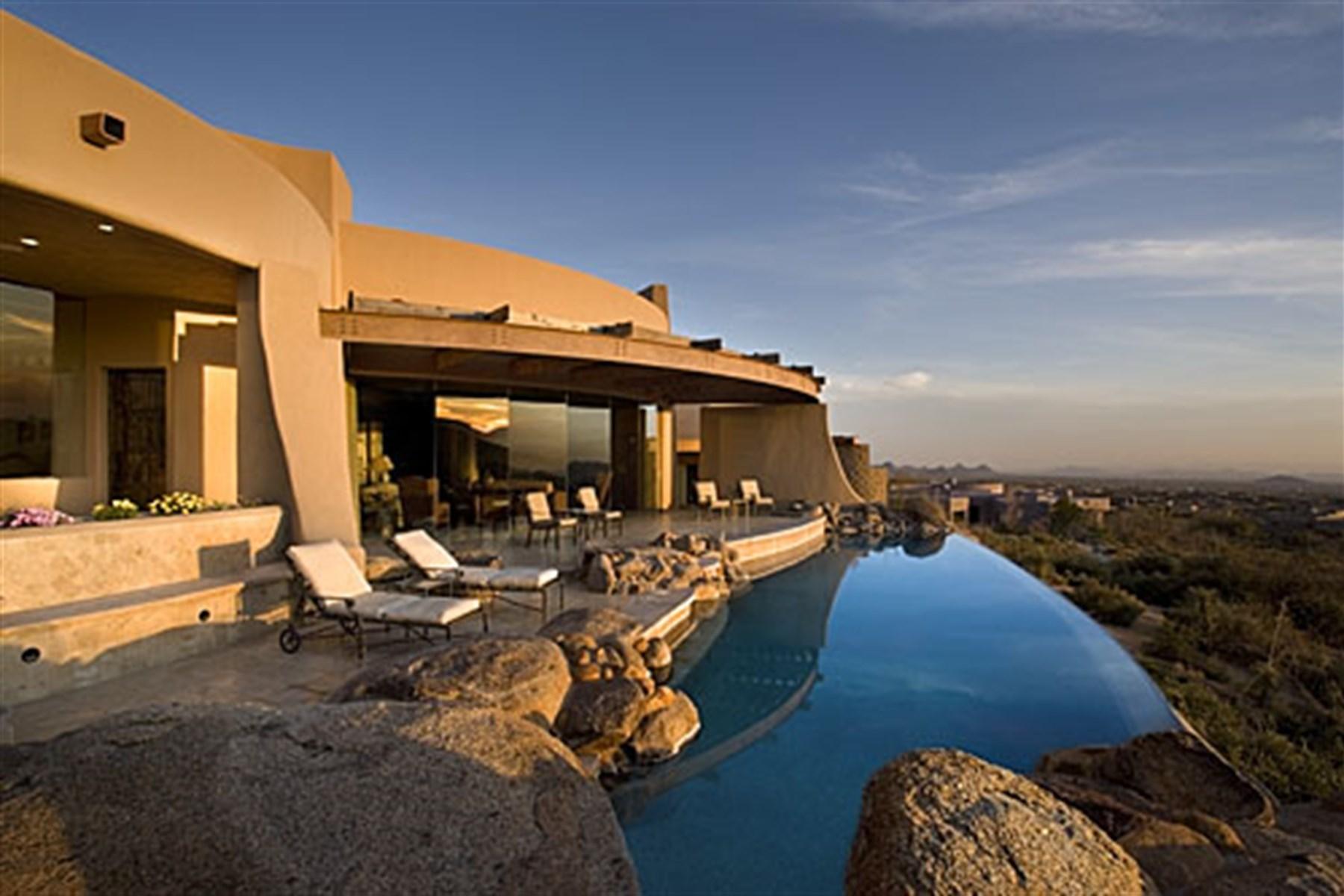 Vivienda unifamiliar por un Venta en Compelling Custom In The Desert 11108 E Mariola Way Scottsdale, Arizona, 85262 Estados Unidos