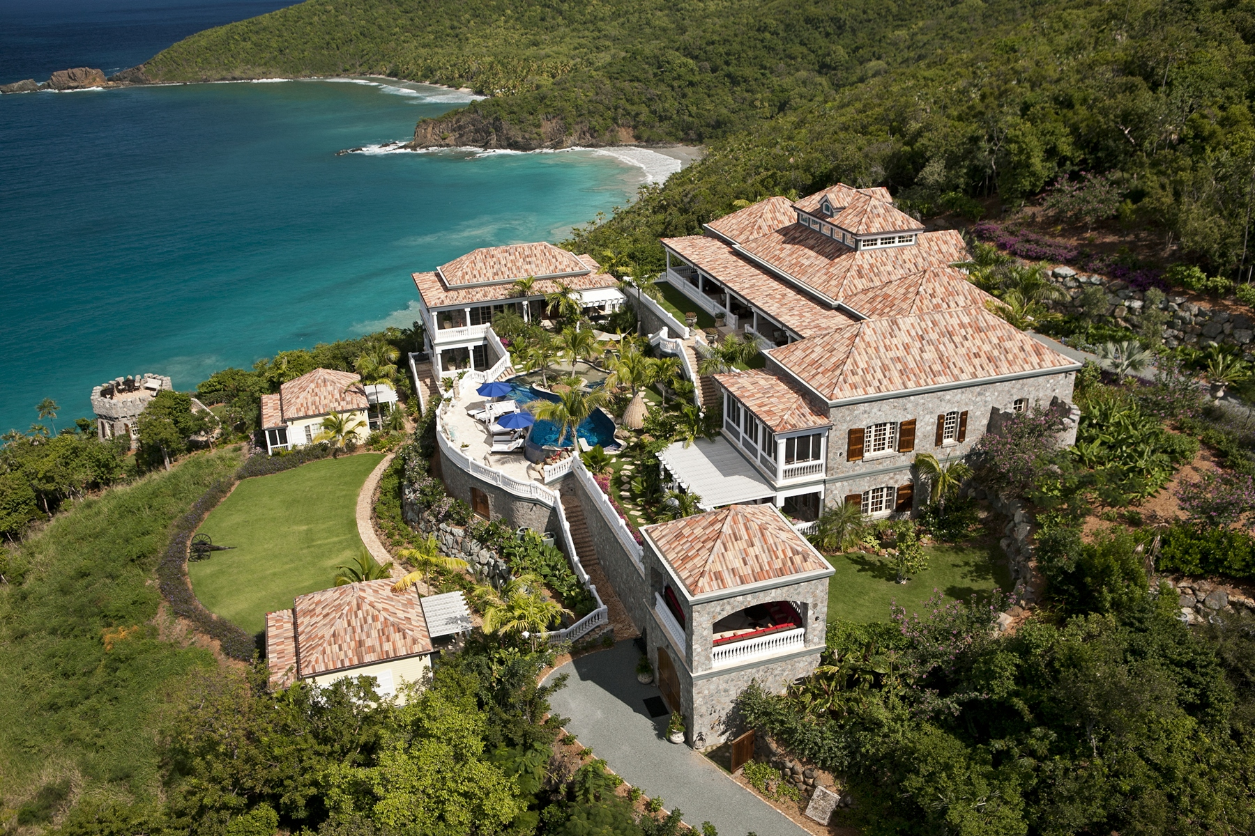 "Casa Unifamiliar por un Venta en Villa ""Pearl"" 4-49 Estate Botany Bay St Thomas, Virgin Islands 00802 Islas Virgenes Ee.Uu."