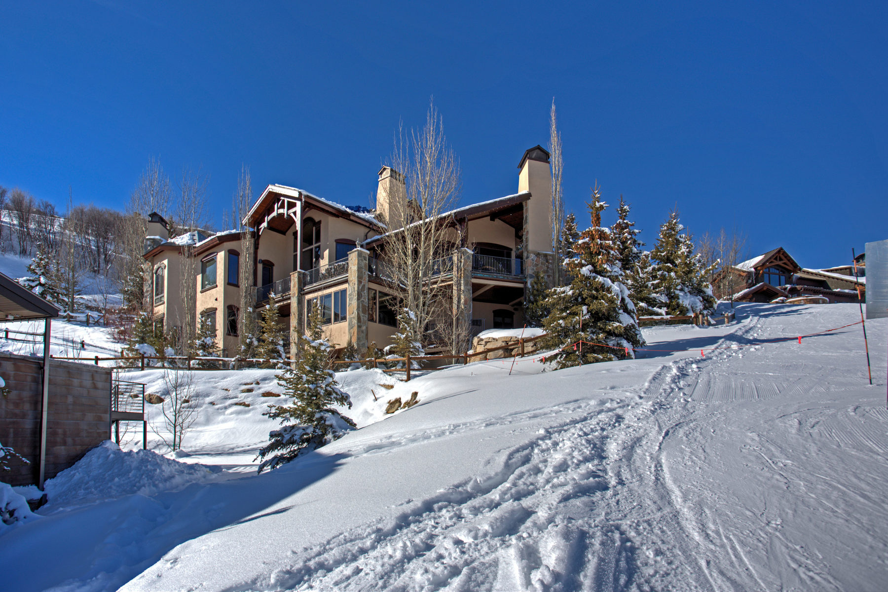Maison unifamiliale pour l Vente à Casa Cielo, Above the Clouds in Deer Crest 3300 W Deer Crest Estates Dr Park City, Utah, 84060 États-Unis