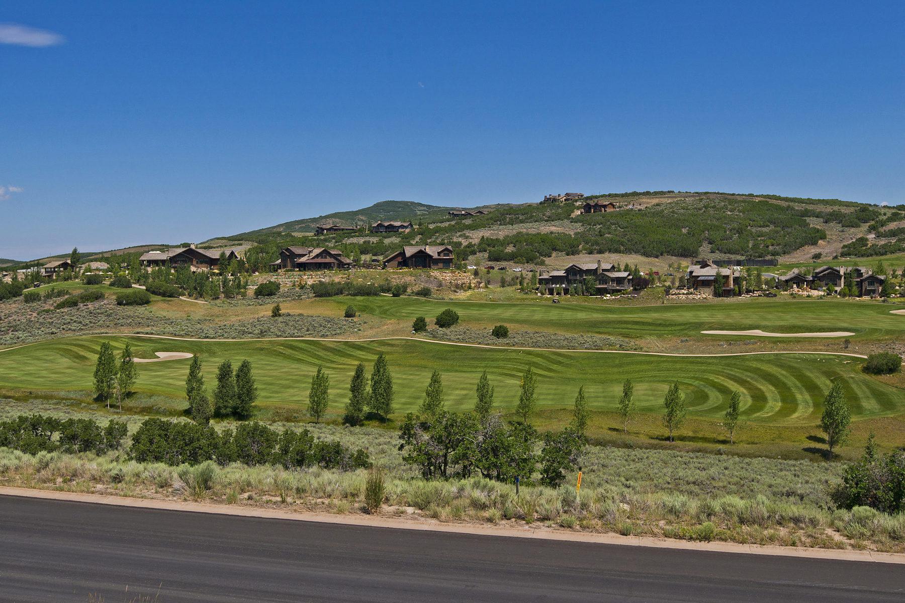 Terrain pour l Vente à Priced to Sell Now - Golf Course & Ski Run Views 9405 N Uinta Dr Lot 28 Heber City, Utah, 84036 États-Unis