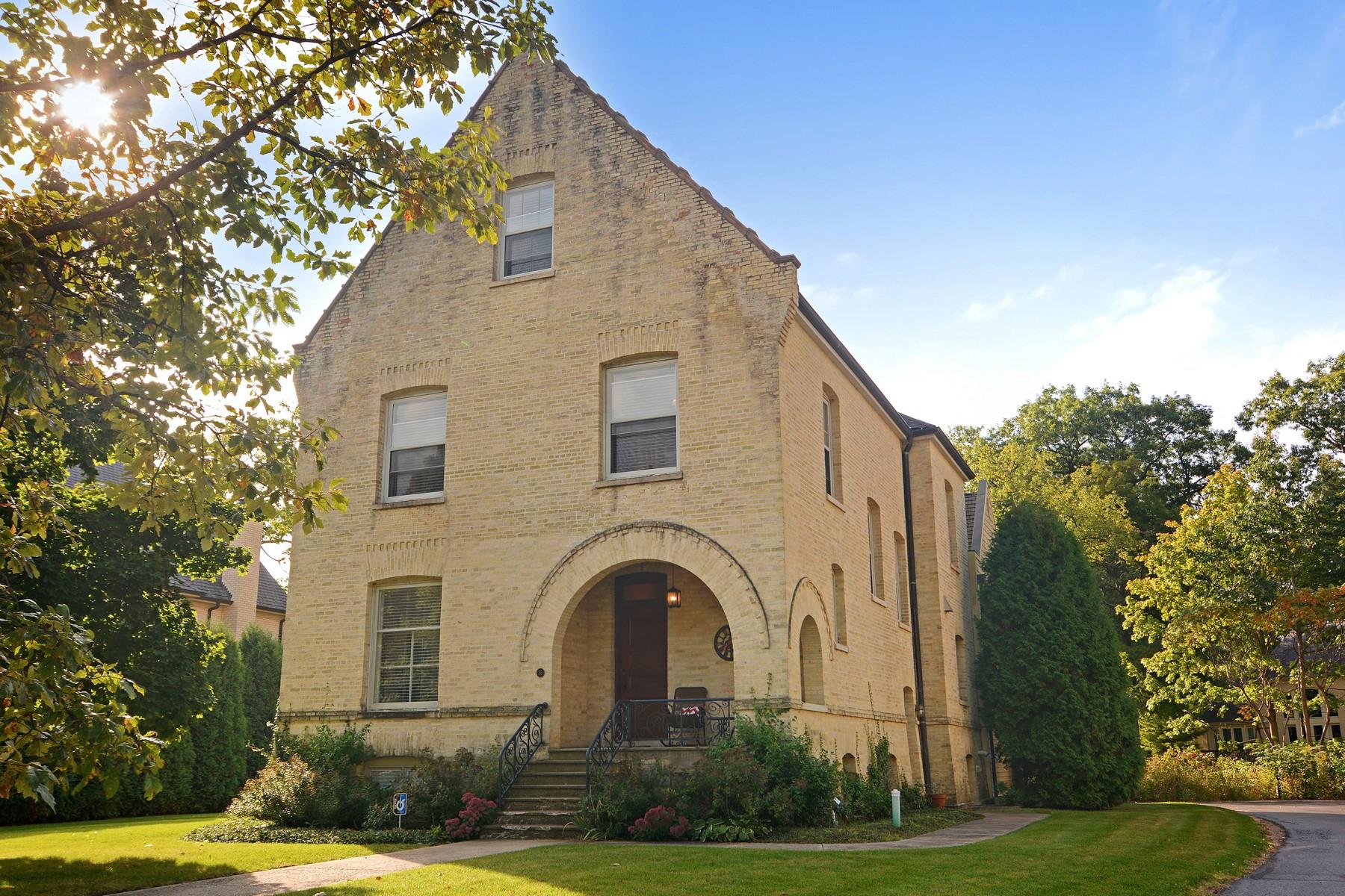 단독 가정 주택 용 매매 에 Grand Officer's Mansion 36 Scott Loop Highland Park, 일리노이즈, 60035 미국