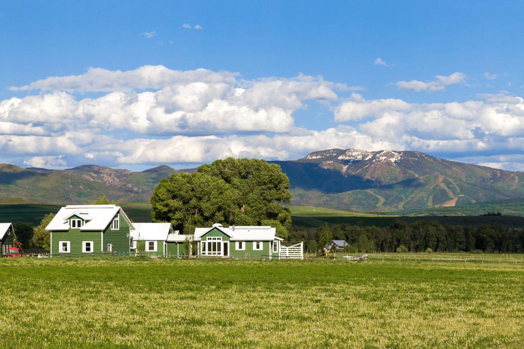 Maison unifamiliale pour l Vente à Crossroads Ranch 41070 County Road 44 Steamboat Springs, Colorado, 80487 États-Unis