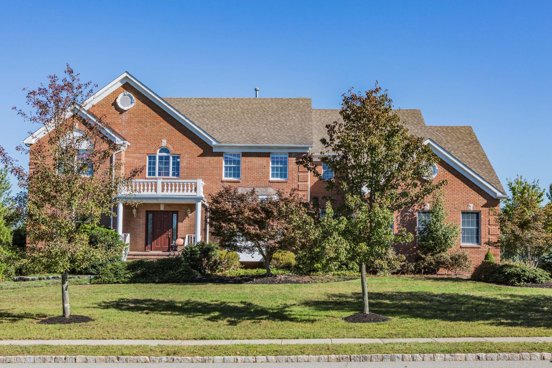 Частный односемейный дом для того Продажа на Harmonious Floor Plan - Montgomery Township 60 Hills Drive Belle Mead, 08502 Соединенные Штаты