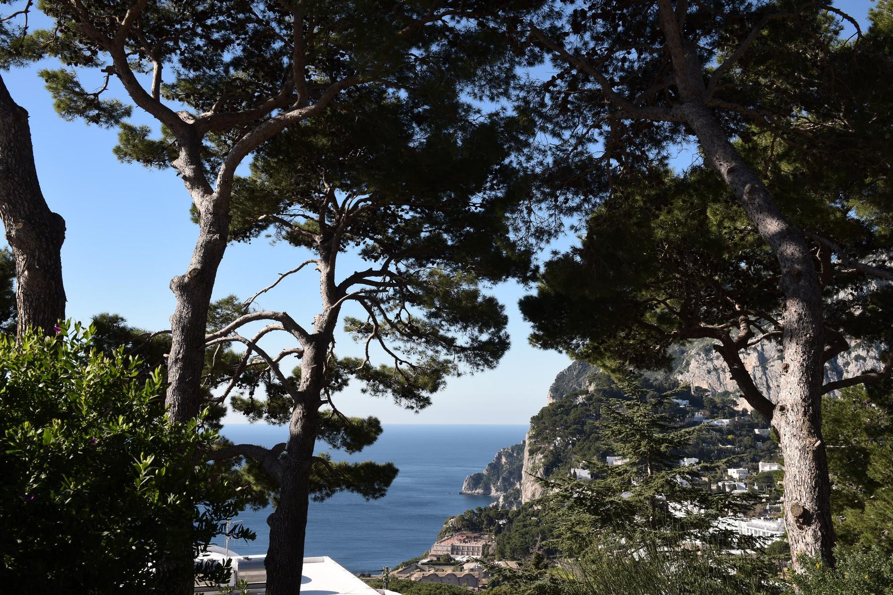 Additional photo for property listing at Impressive Villa in the heart of Capri Capri, Naples Italy