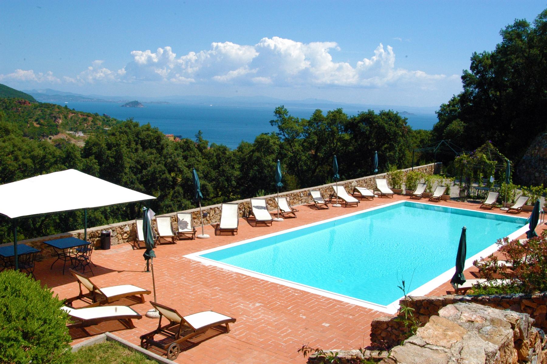 Farm / Ranch / Plantation for Sale at Panoramic farmhouse with winery Rio Marina Rio Marina, Livorno 57038 Italy