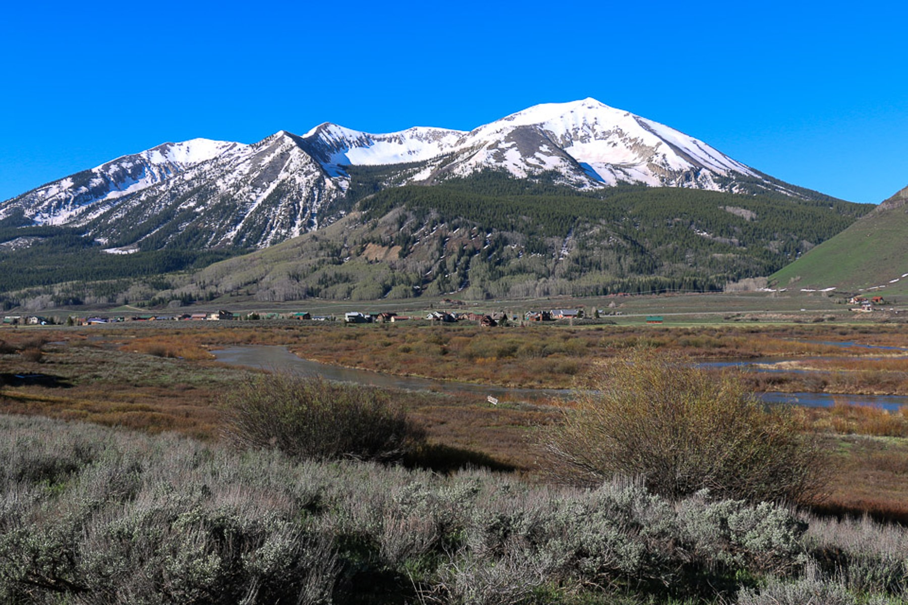 Land for Sale at Captivating, Protected Views 253 W. Silver Sage Drive Crested Butte, Colorado, 81224 United States