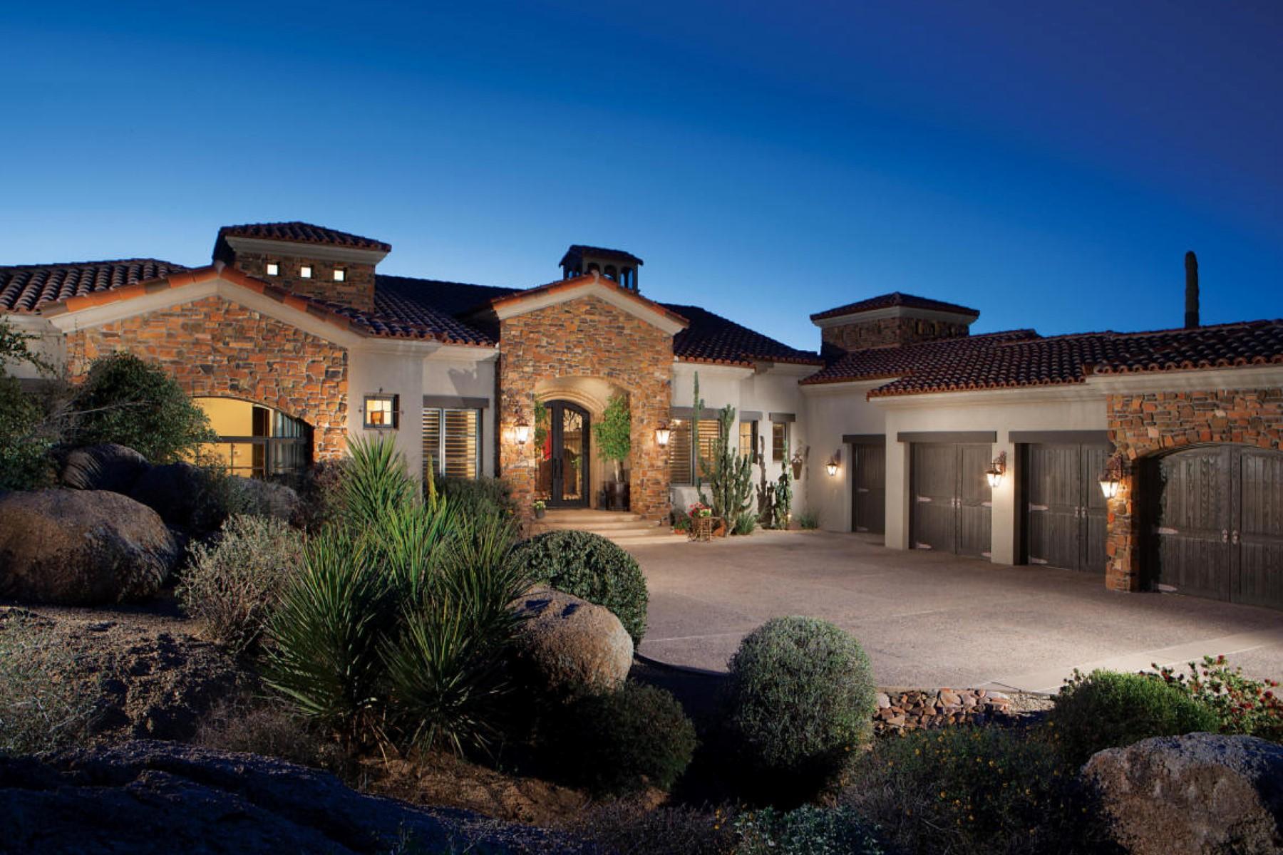 Einfamilienhaus für Verkauf beim Gorgeous custom home with breathtaking views 27842 N 103rd Pl Scottsdale, Arizona, 85262 Vereinigte Staaten