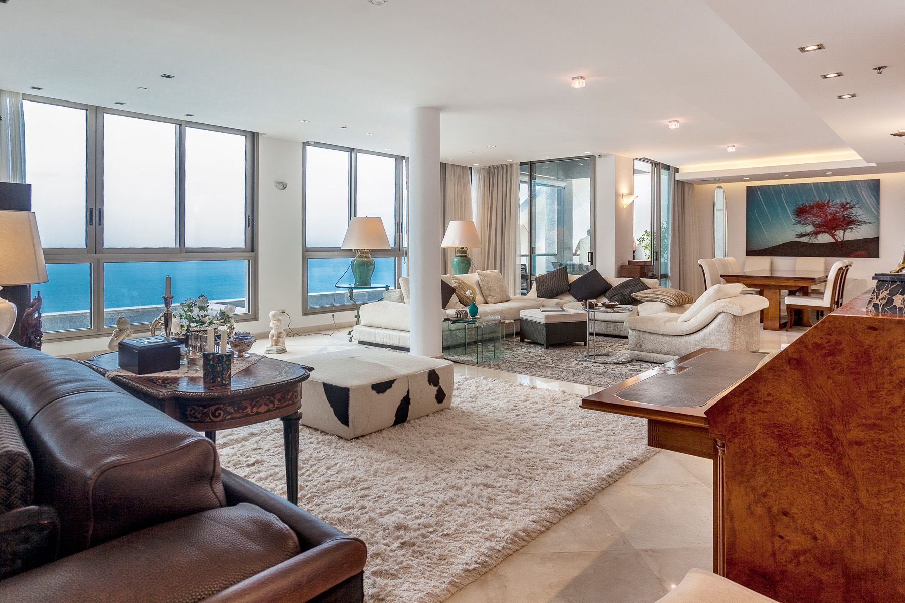 Duplex for Sale at Refined Seafront Duplex Apartment in Netanya Netanya, Israel Israel