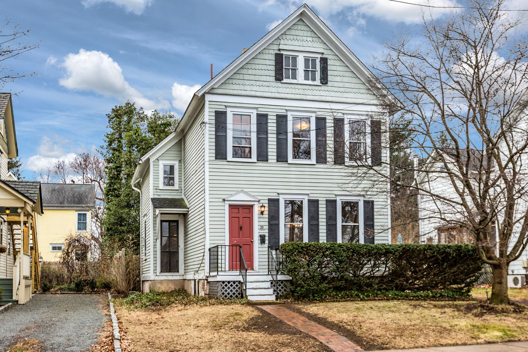 Single Family Home for Sale at An In-Town Gem - Hopewell Boro 39 Columbia Avenue Hopewell, New Jersey, 08525 United States